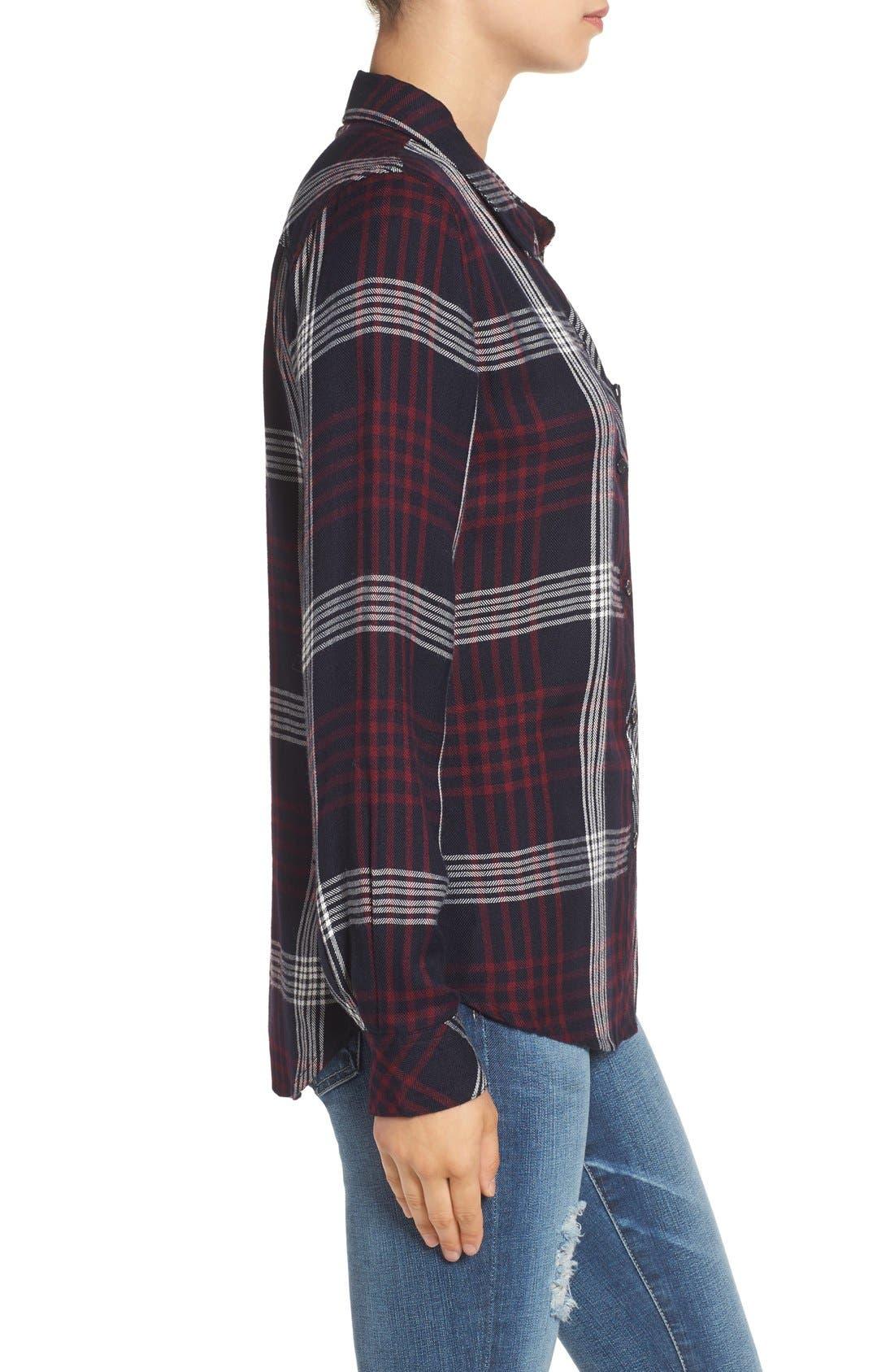 Hunter Plaid Shirt,                             Alternate thumbnail 664, color,