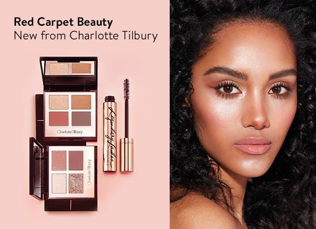 Red carpet beauty essentials from celebrity makeup artist Charlotte Tilbury.
