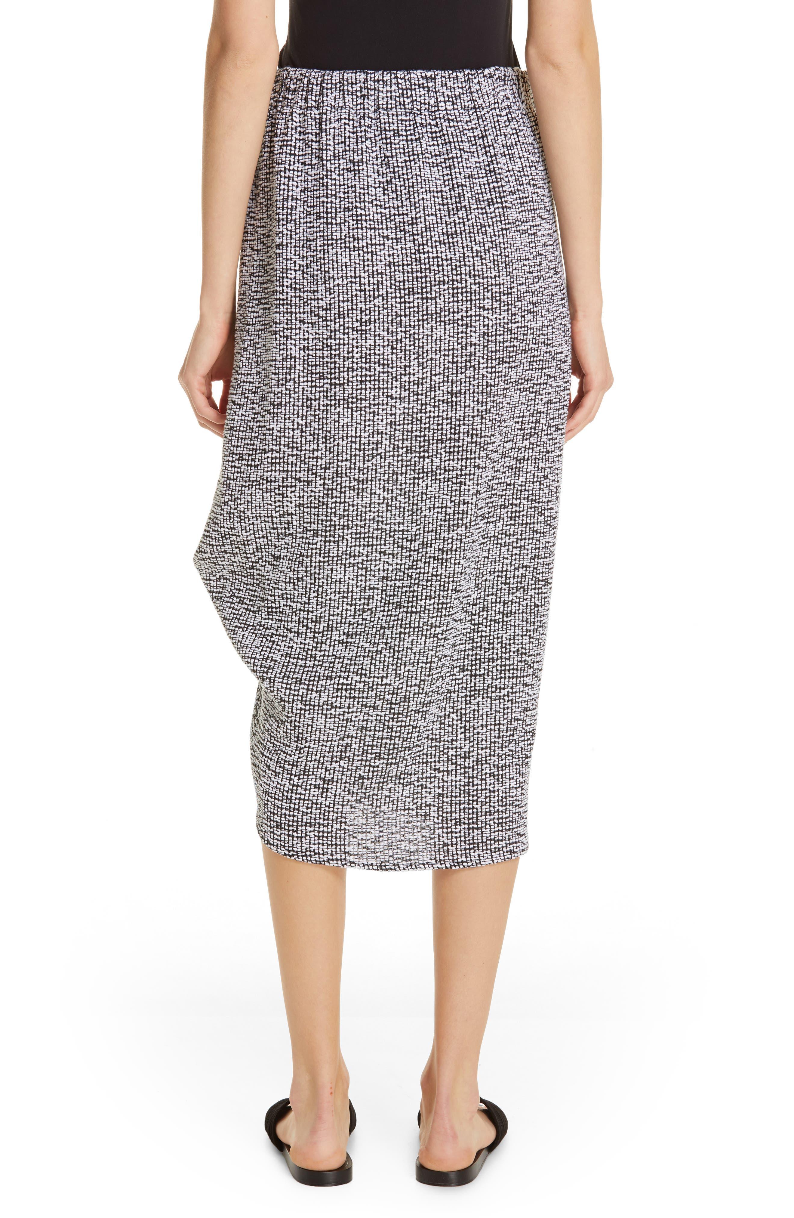 Mio Skirt,                             Alternate thumbnail 2, color,                             WHITE/ BLACK