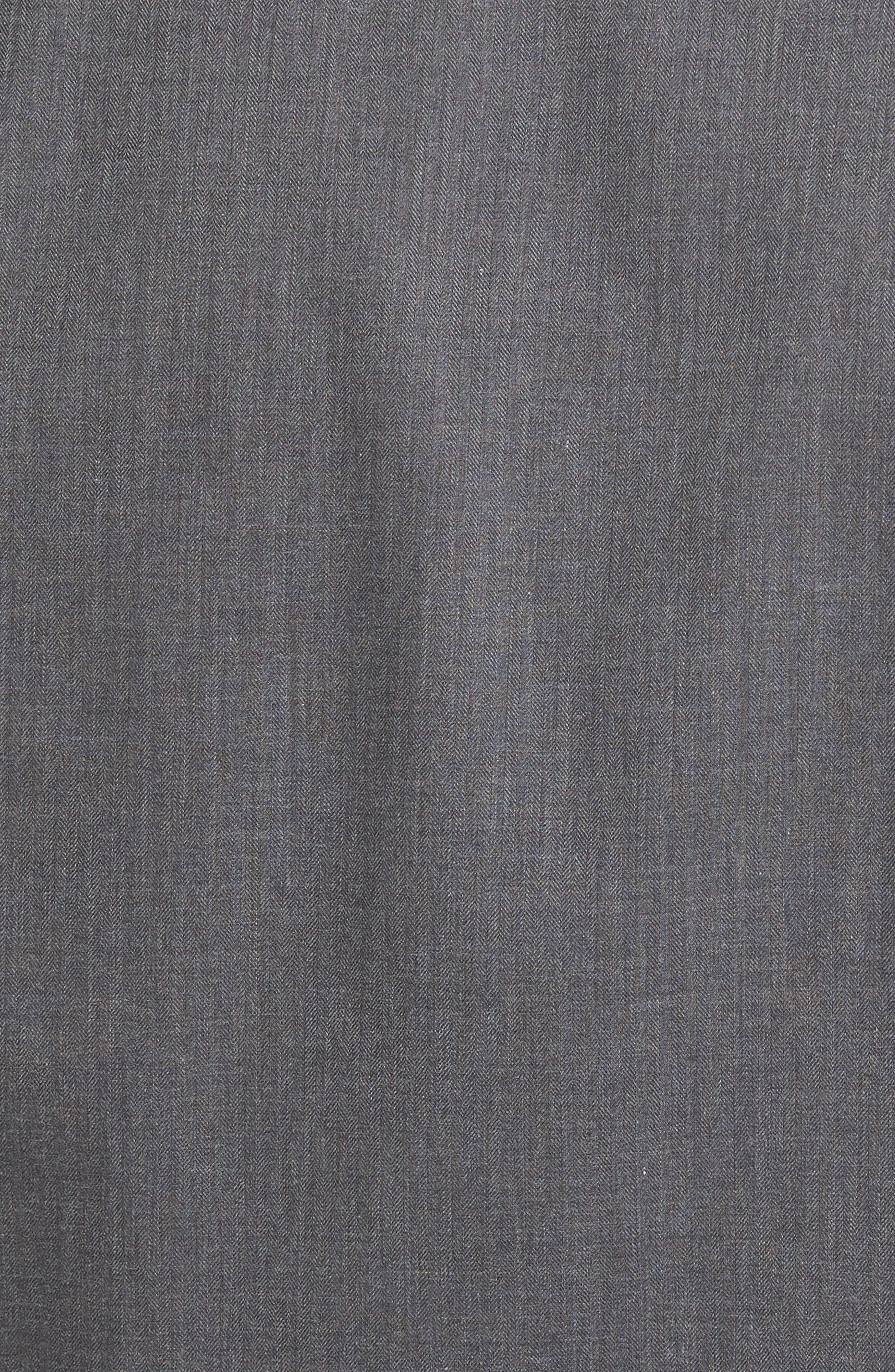 Peter Millar Regular Fit Mélange Herringbone Sport Shirt,                             Alternate thumbnail 5, color,                             039