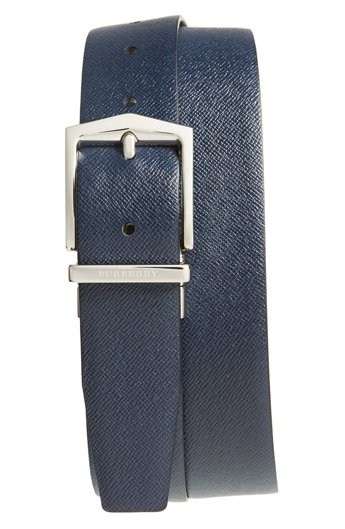 'James' Reversible Leather Belt,                             Alternate thumbnail 2, color,                             930