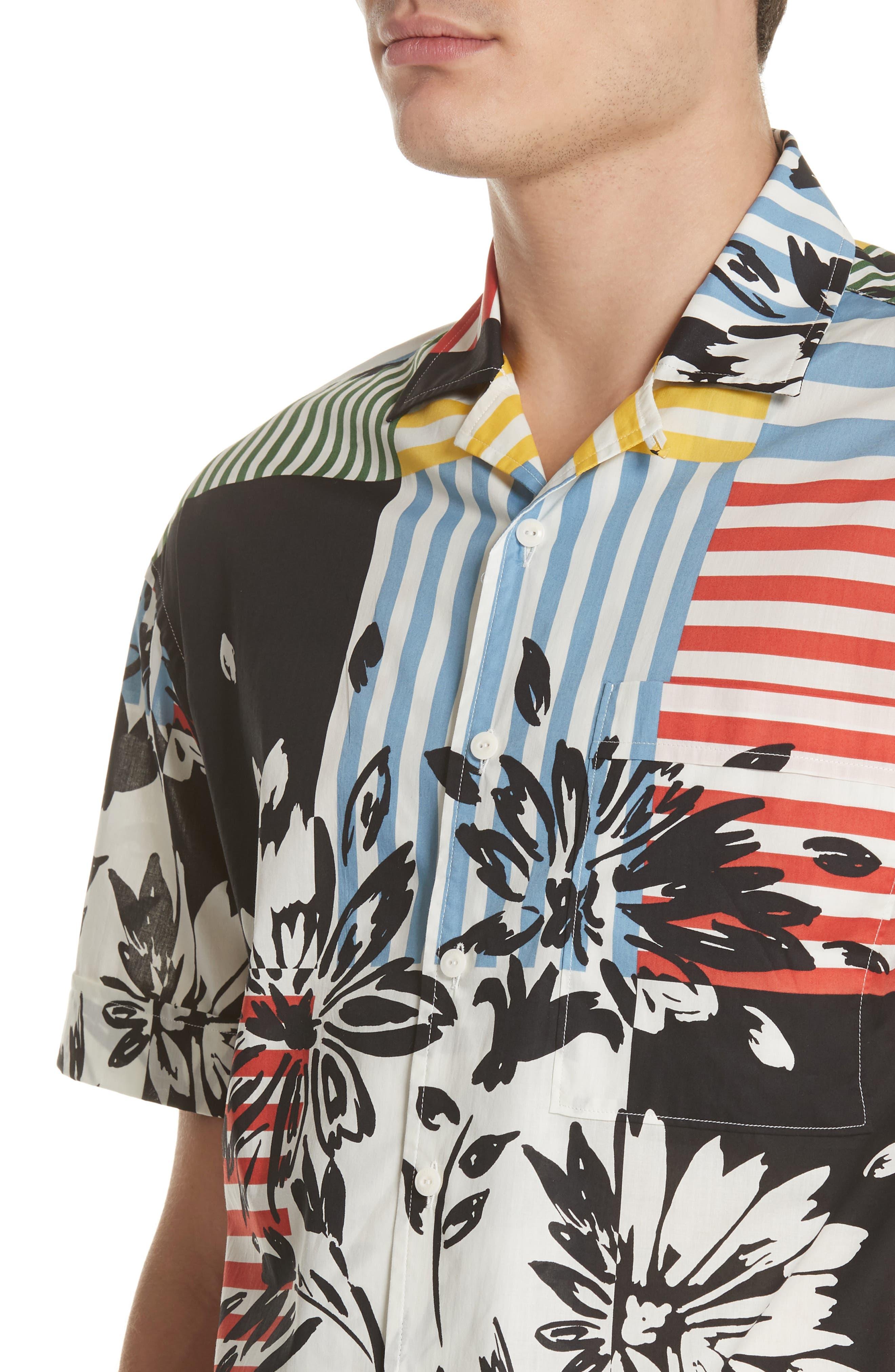 Harley Print Shirt,                             Alternate thumbnail 4, color,                             409