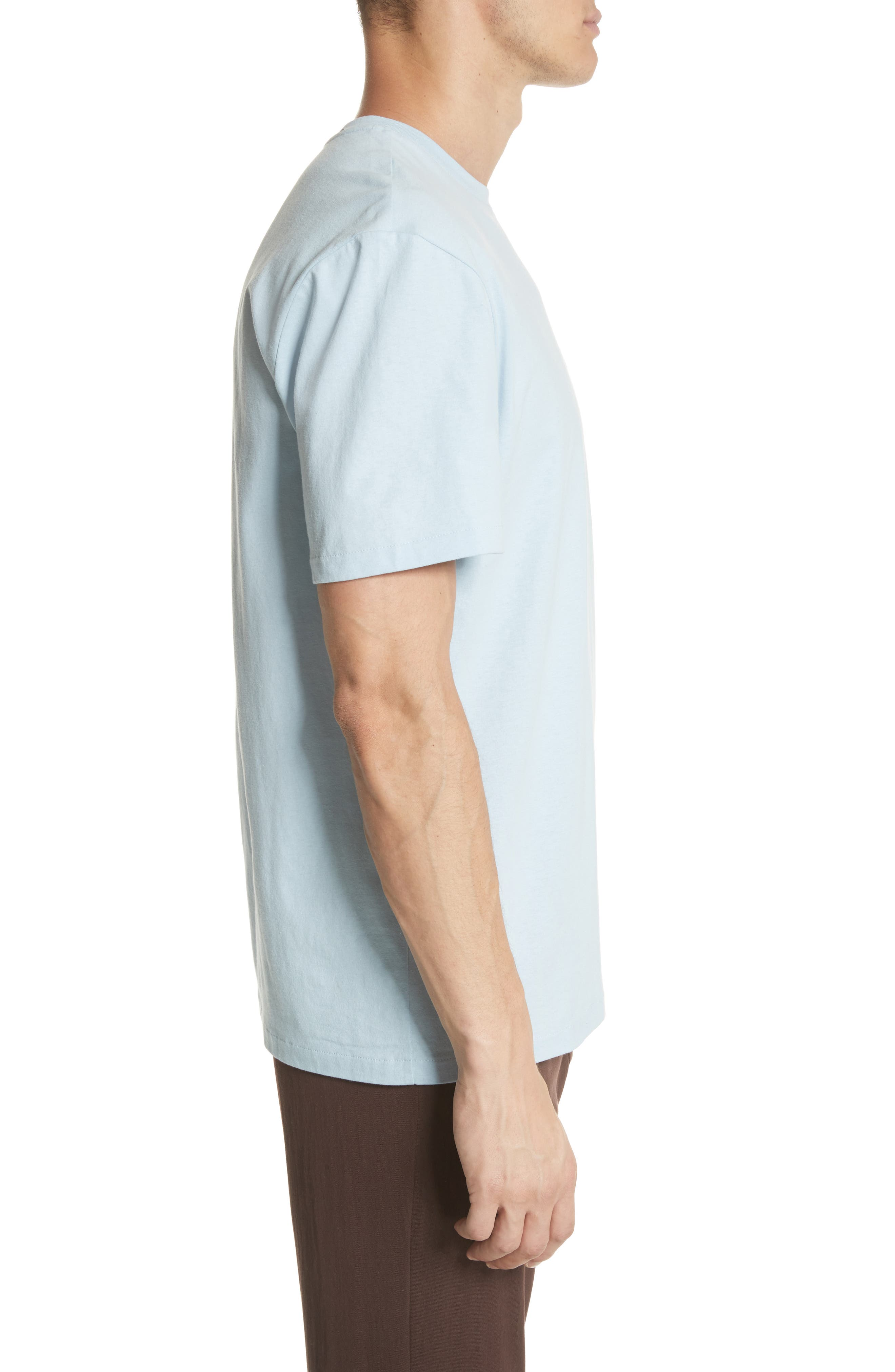 Double Pocket T-Shirt,                             Alternate thumbnail 3, color,                             BLUE