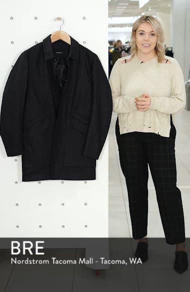 Tech Merino Wool Blend Mac Coat, sales video thumbnail