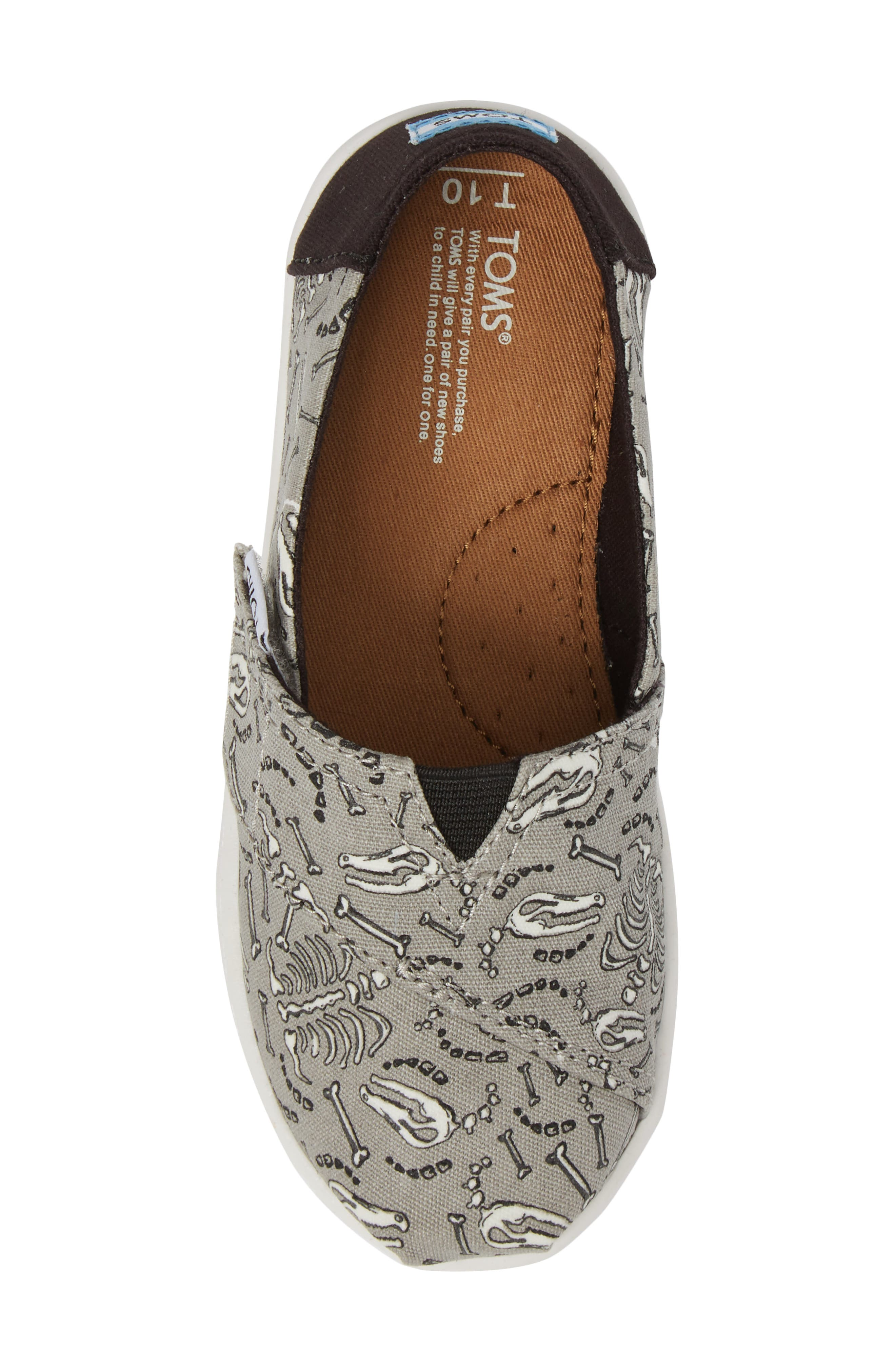 Tiny Alpargata Print Slip-On,                             Alternate thumbnail 23, color,