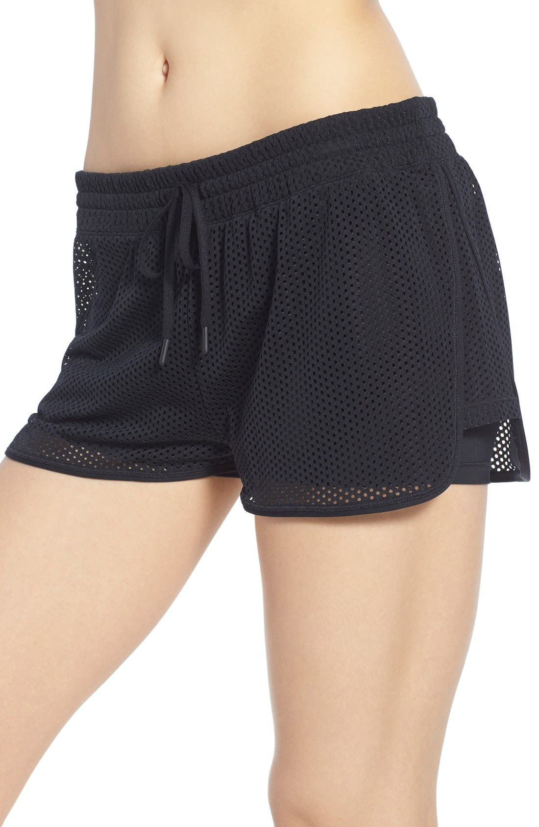 Mesh Running Shorts,                             Alternate thumbnail 5, color,                             001