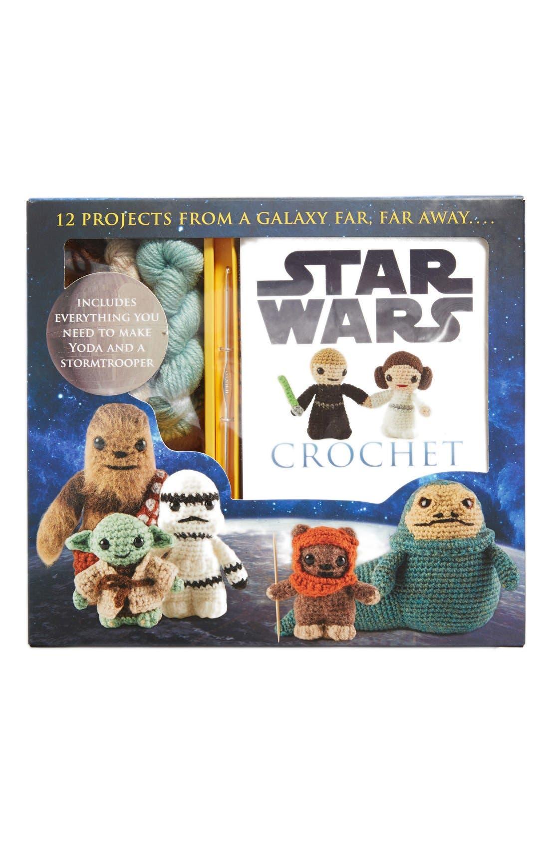 'Star Wars Crochet' Book & Kit,                             Main thumbnail 1, color,                             400