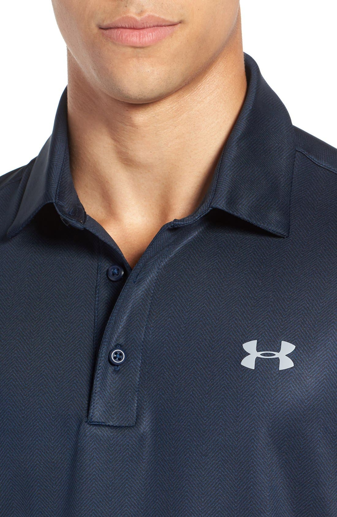 'Playoff' Loose Fit Short Sleeve Polo,                             Alternate thumbnail 206, color,