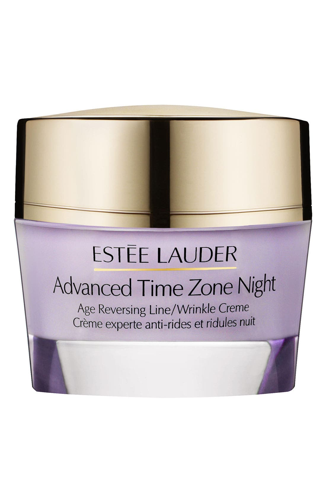 Advanced Time Zone Night Age Reversing Line/Wrinkle Creme,                             Main thumbnail 1, color,                             NO COLOR
