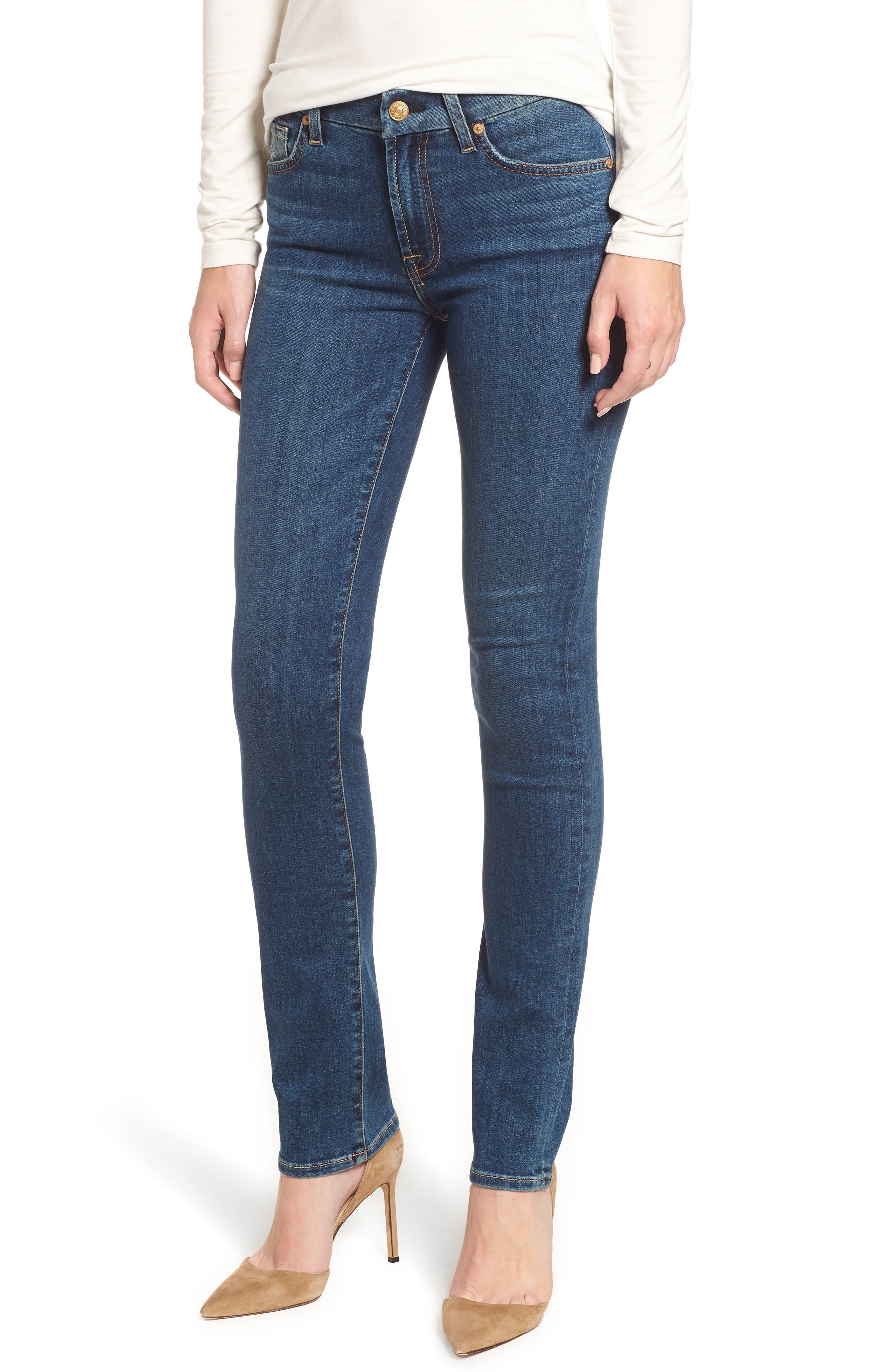 Kimmie Straight Leg Jeans,                             Main thumbnail 1, color,                             GLAM MEDIUM