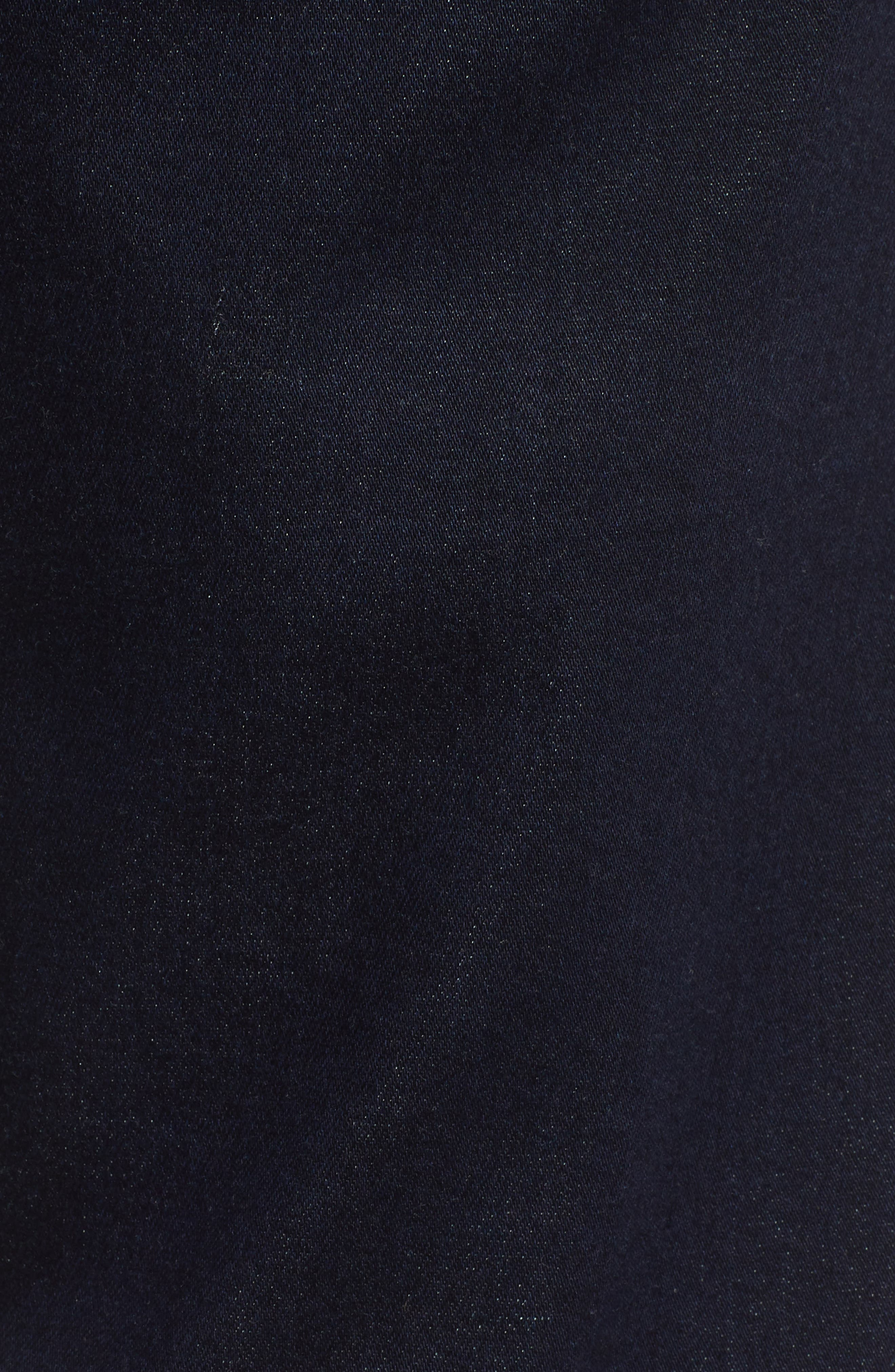 Matt Relaxed Fit Straight Leg Jeans,                             Alternate thumbnail 5, color,                             DEEP RINSE SOFT MOVE