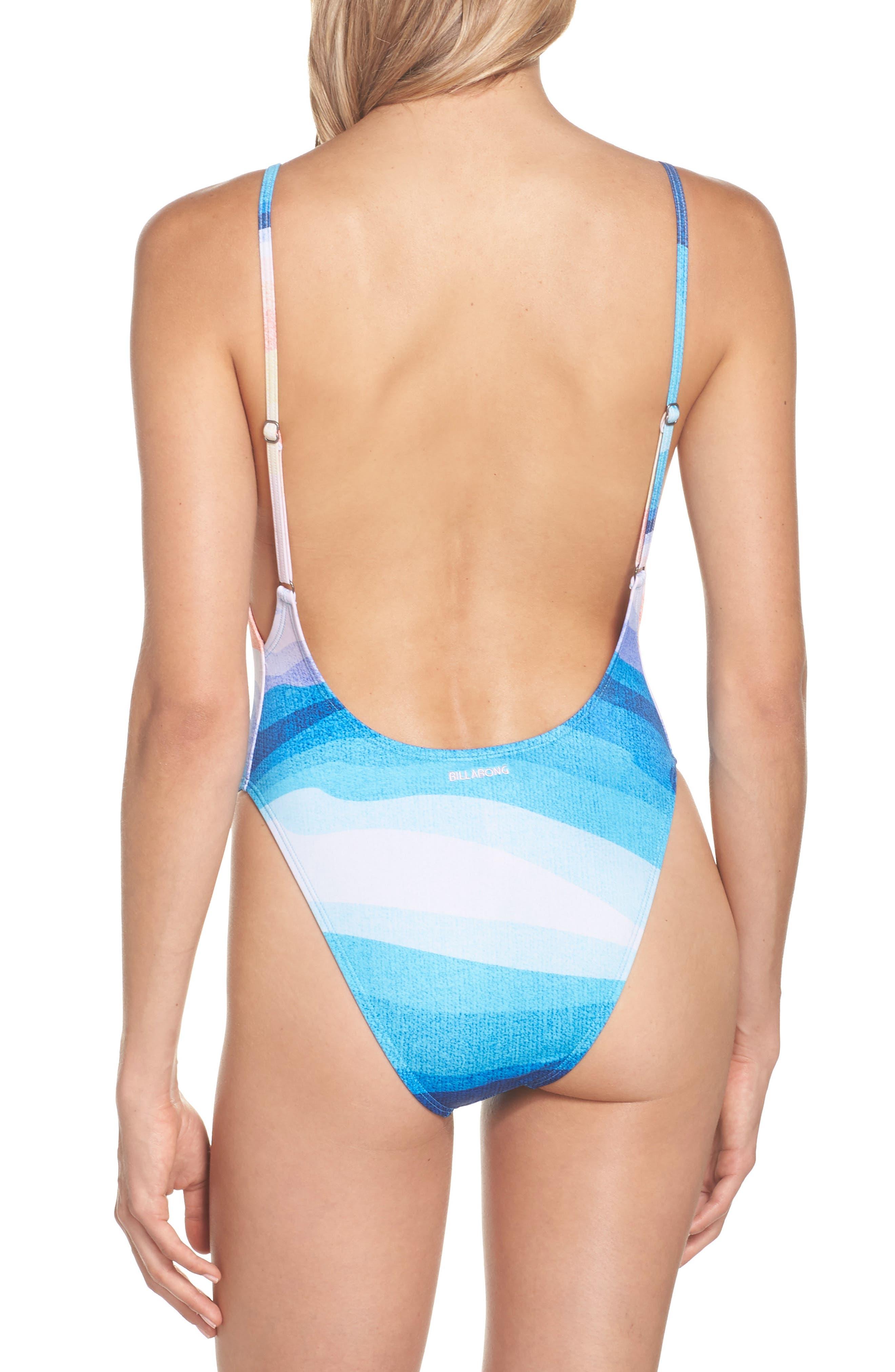 Sea Trip One-Piece Swimsuit,                             Alternate thumbnail 2, color,                             MIRAGE