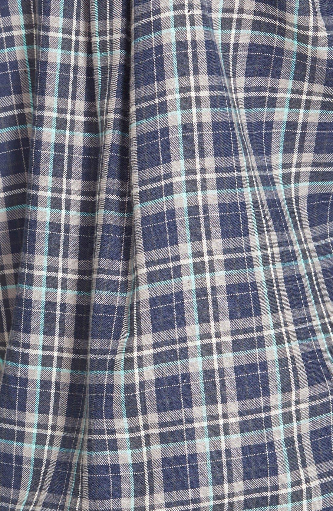 Embellished Plaid Shirt,                             Alternate thumbnail 3, color,                             410