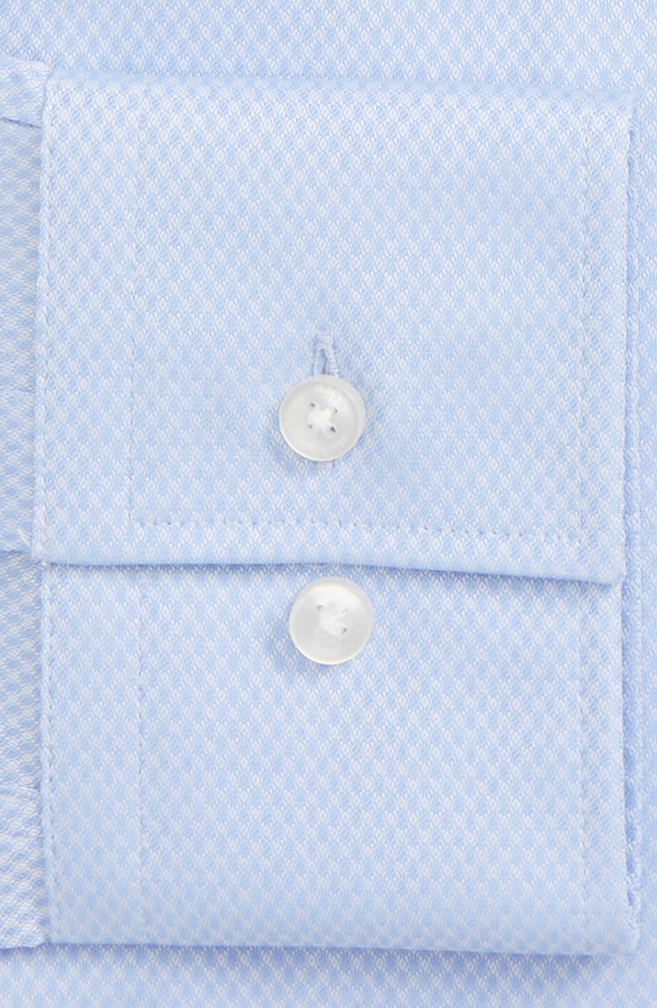 Jenno Slim Fit Solid Dress Shirt,                             Alternate thumbnail 2, color,                             450