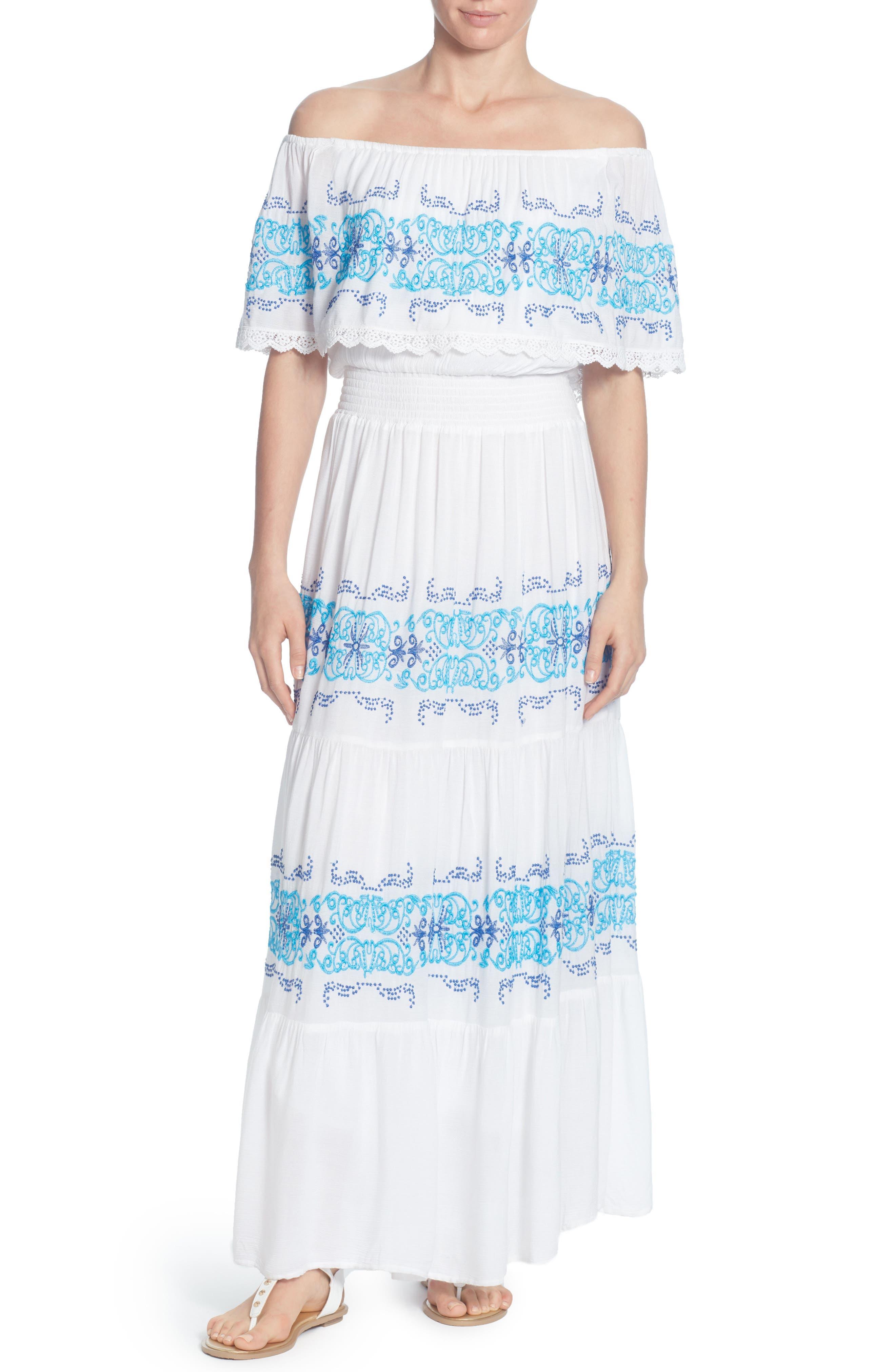 Catherine Catherine Malandrino Charise Maxi Dress, White