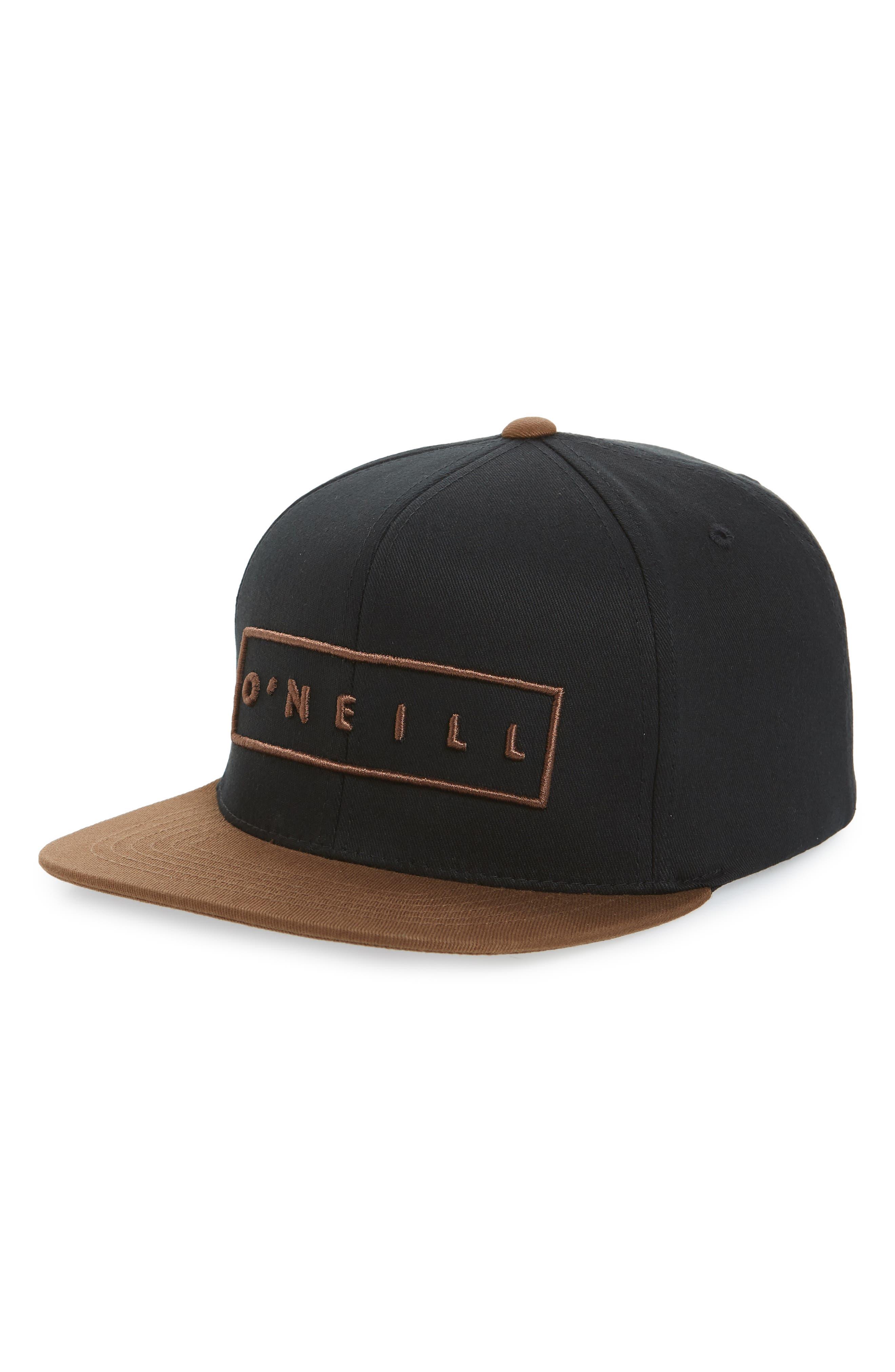 Hotbox Baseball Cap,                         Main,                         color, BLACK