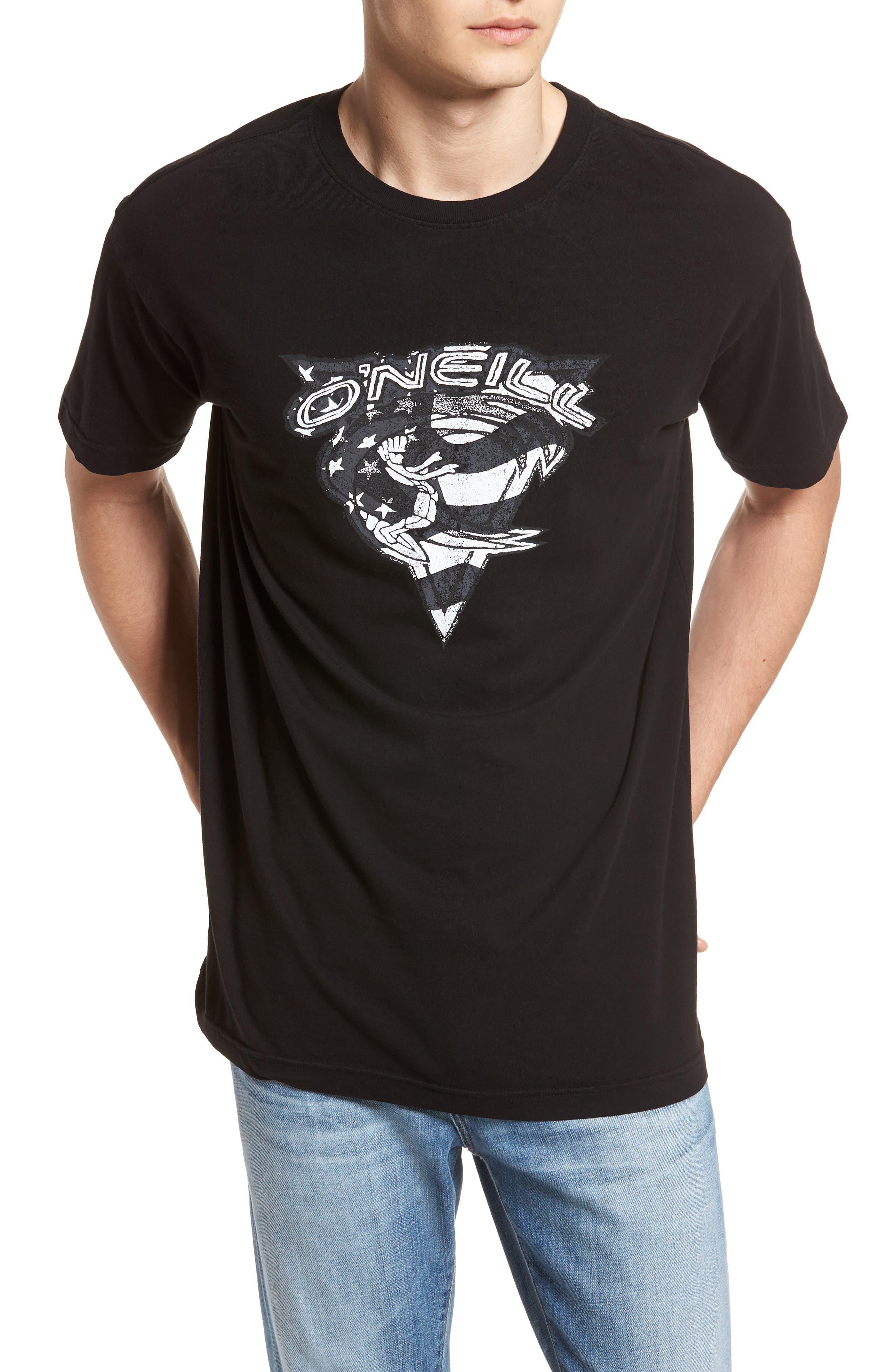 Patriot Graphic T-Shirt,                             Main thumbnail 1, color,                             001