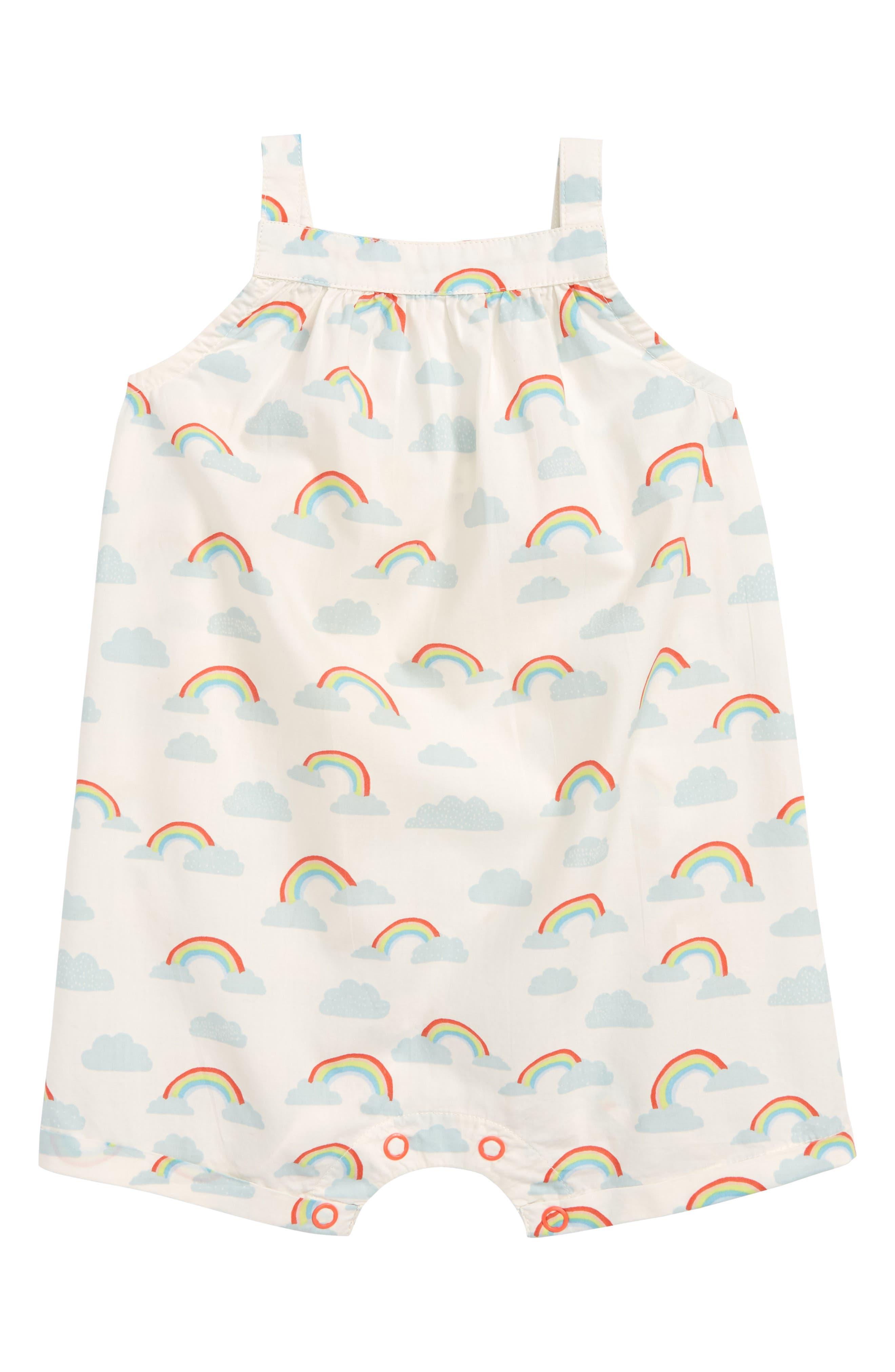 Rainbow Romper,                         Main,                         color, 900