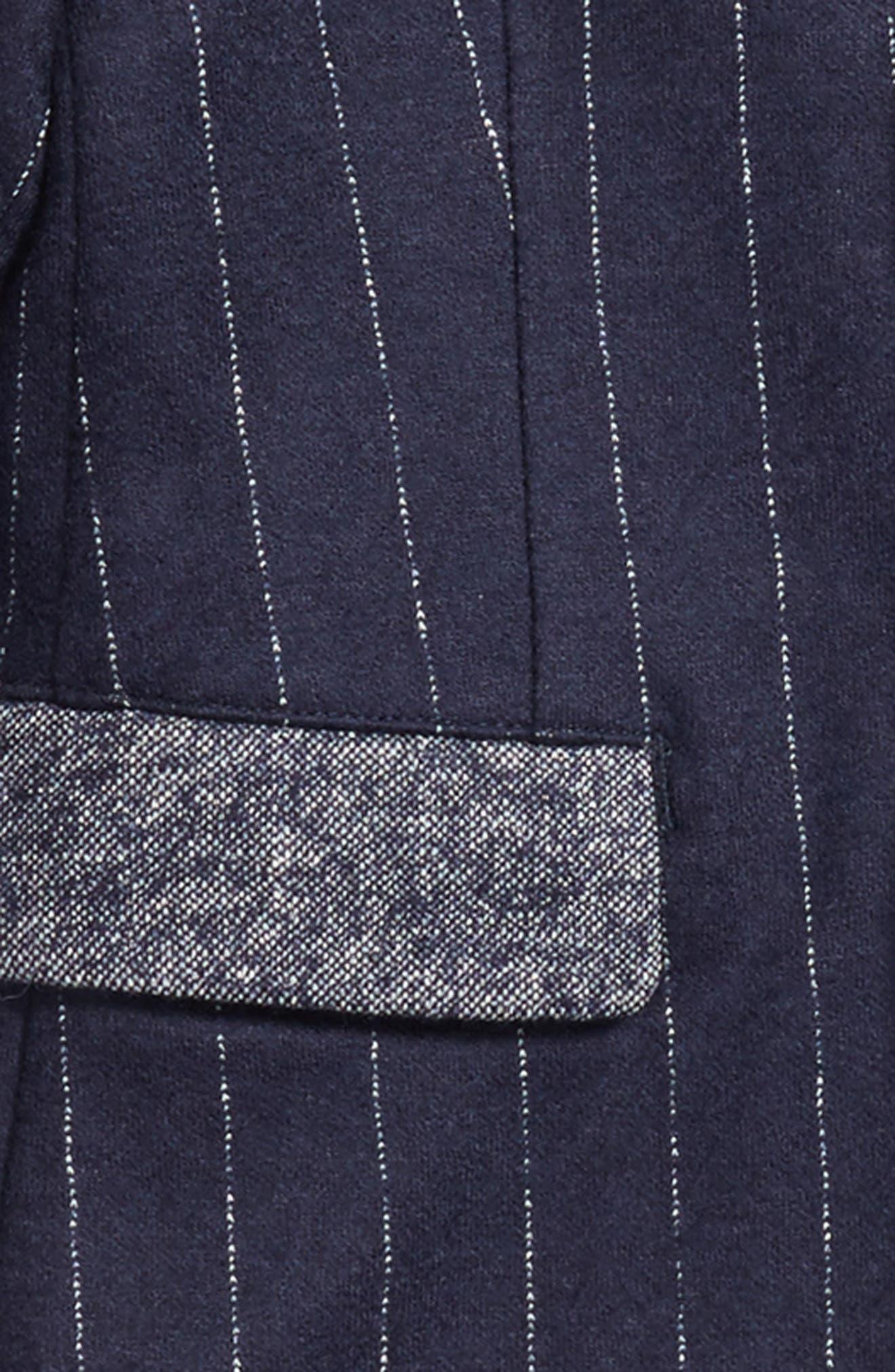 Pinstripe Blazer,                         Main,                         color,
