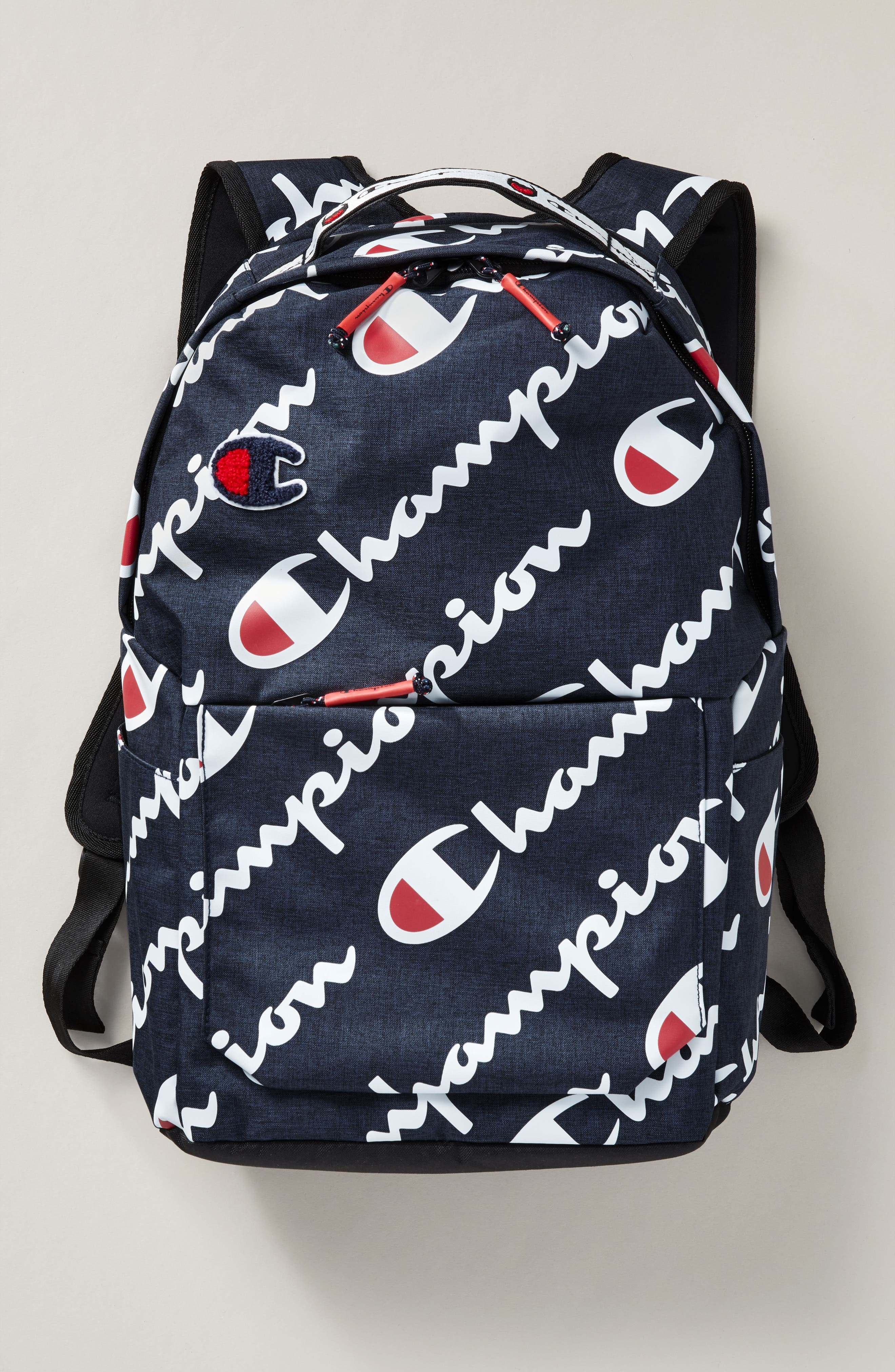Advocate Logo Backpack,                             Alternate thumbnail 2, color,                             NAVY HEATHER