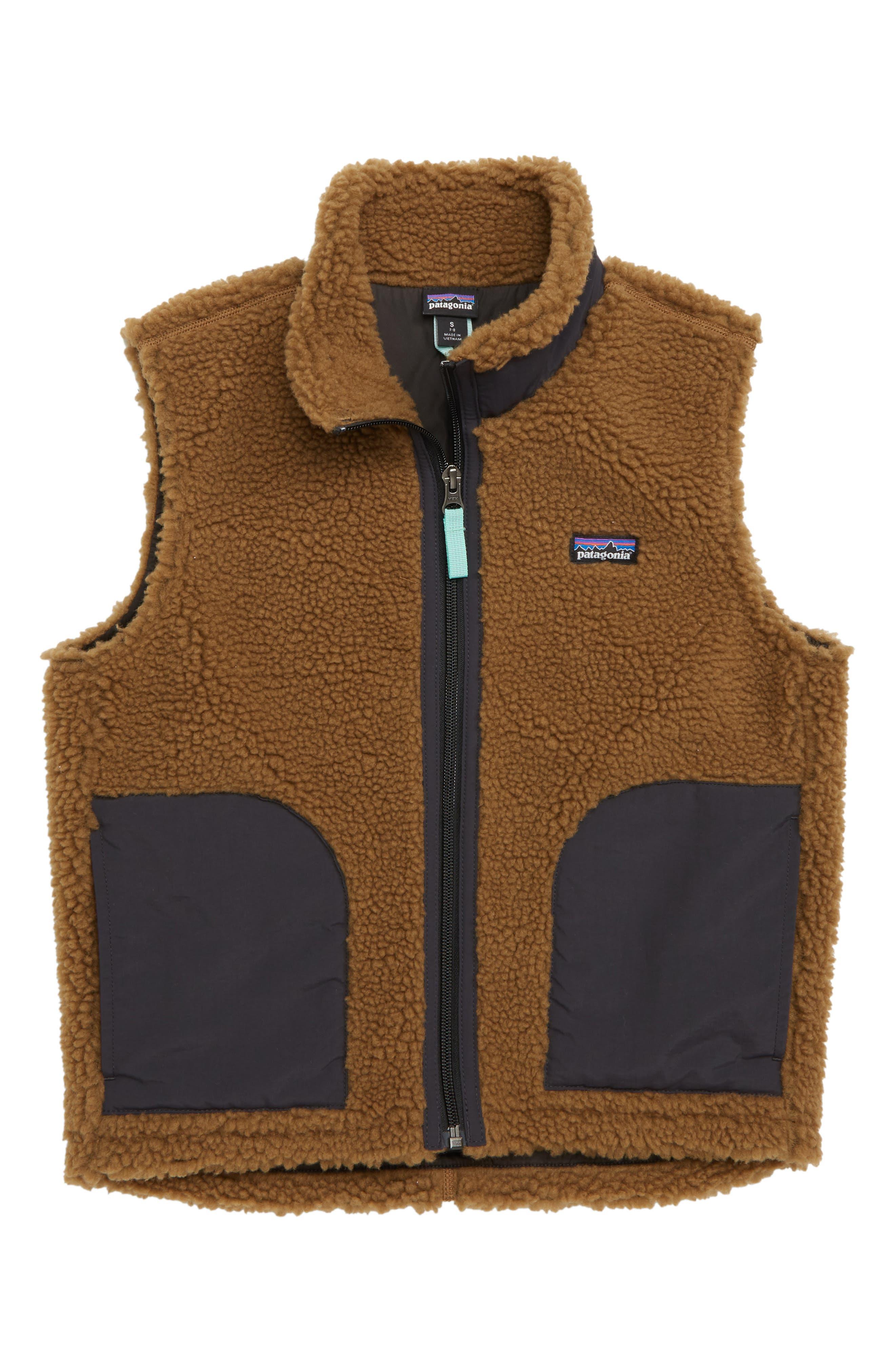 PATAGONIA,                             Retro-X<sup>®</sup> Fleece Vest,                             Main thumbnail 1, color,                             200