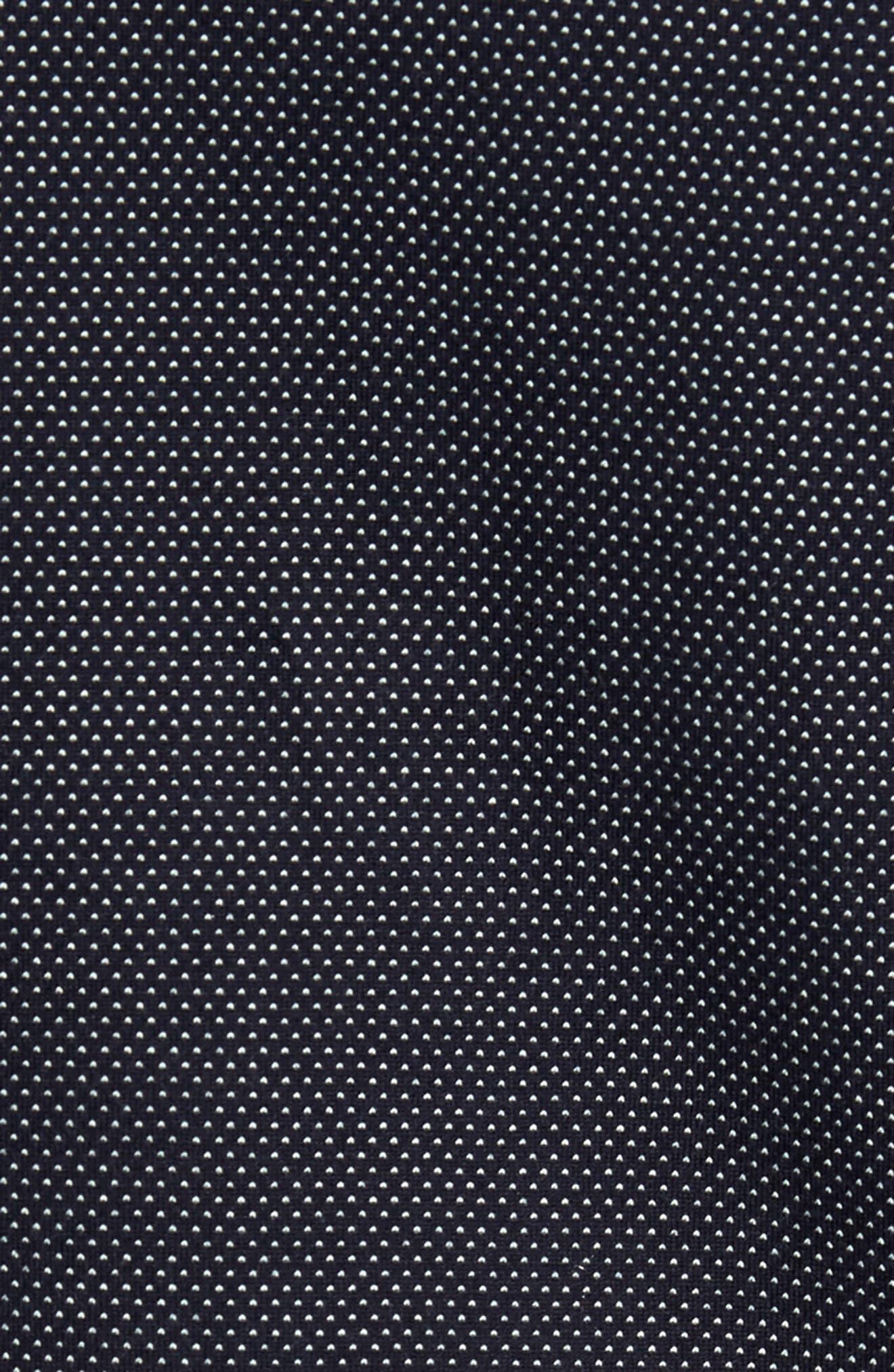 Slim Fit Microdot Sport Shirt,                             Alternate thumbnail 5, color,                             410
