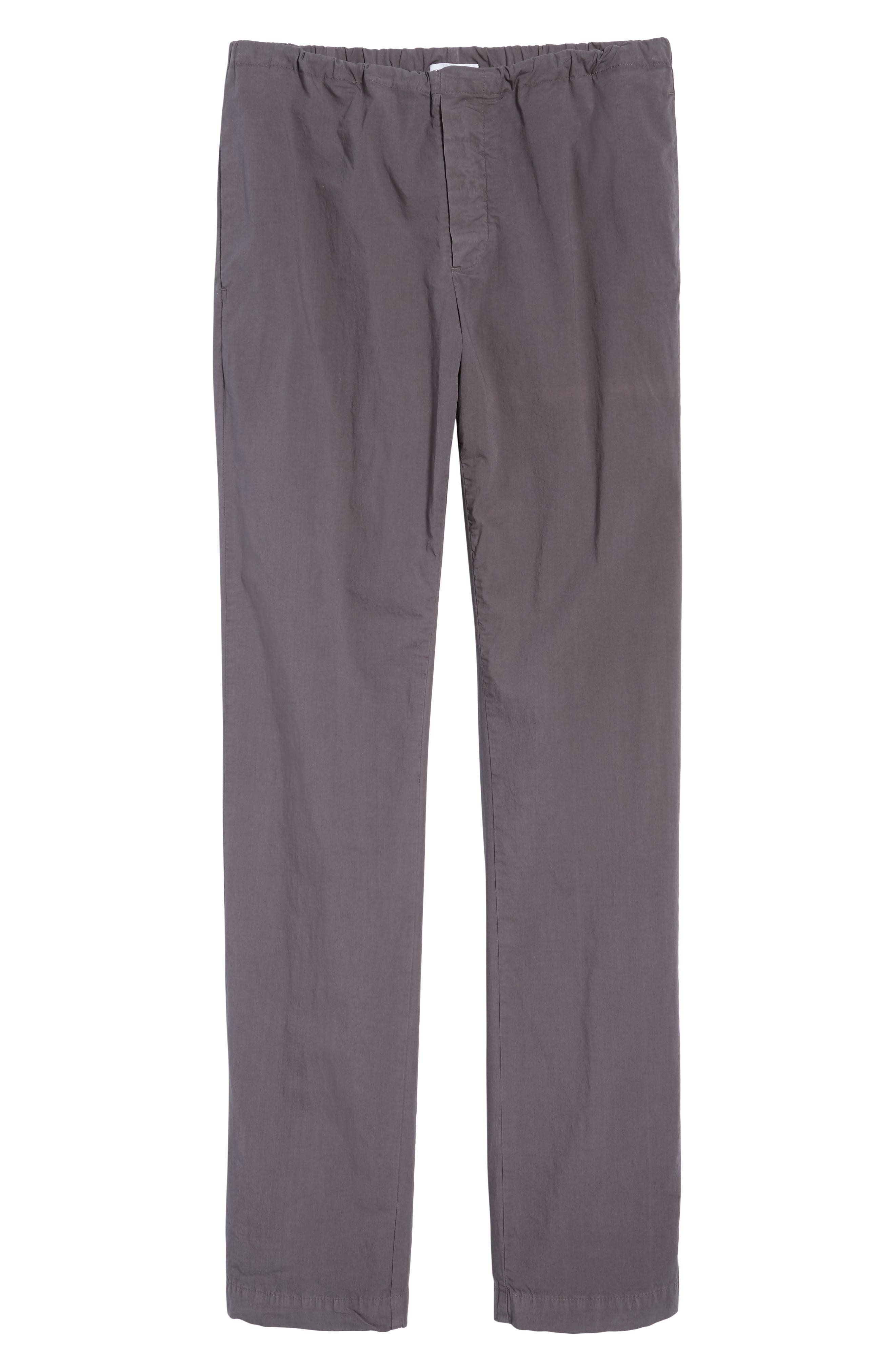 Slim Stretch Poplin Drawcord Pants,                             Alternate thumbnail 22, color,