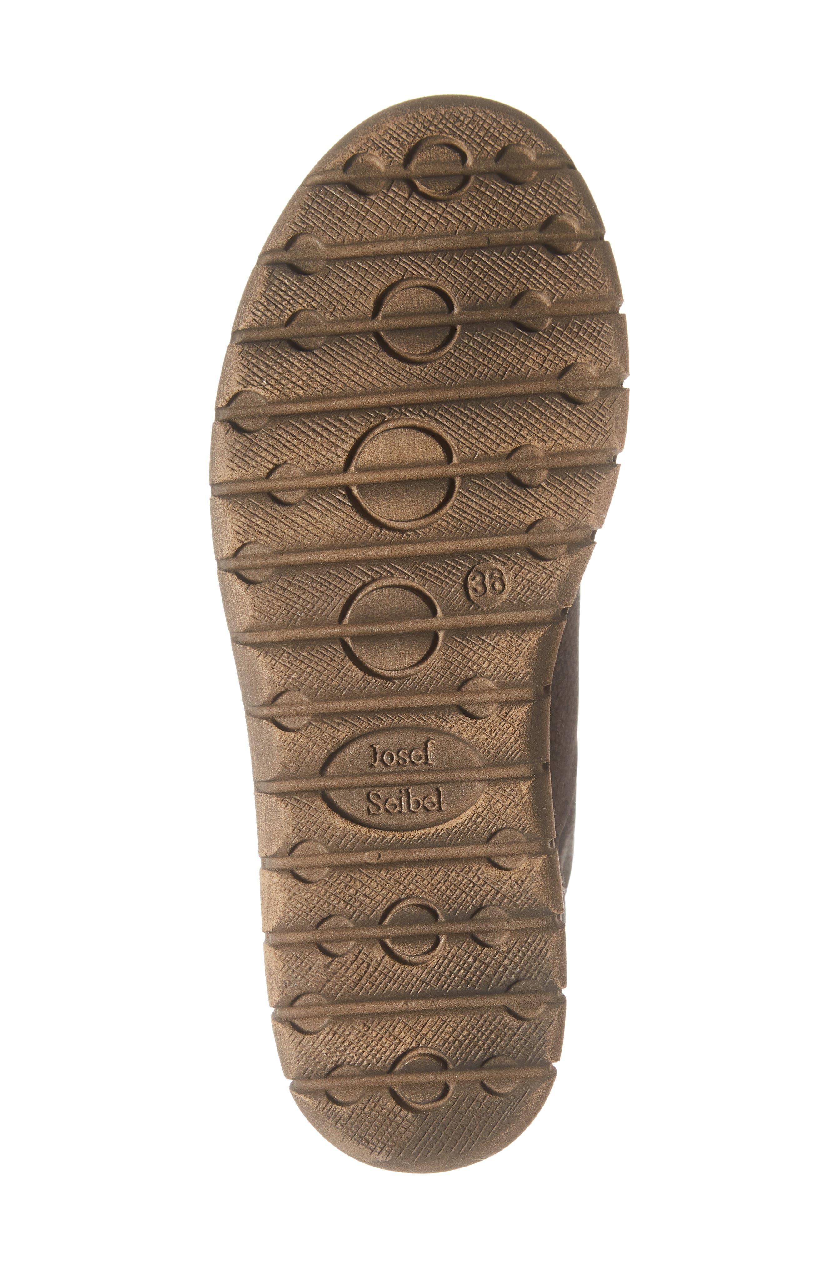 Steffi 58 Sneaker Bootie,                             Alternate thumbnail 6, color,                             TITAN LEATHER