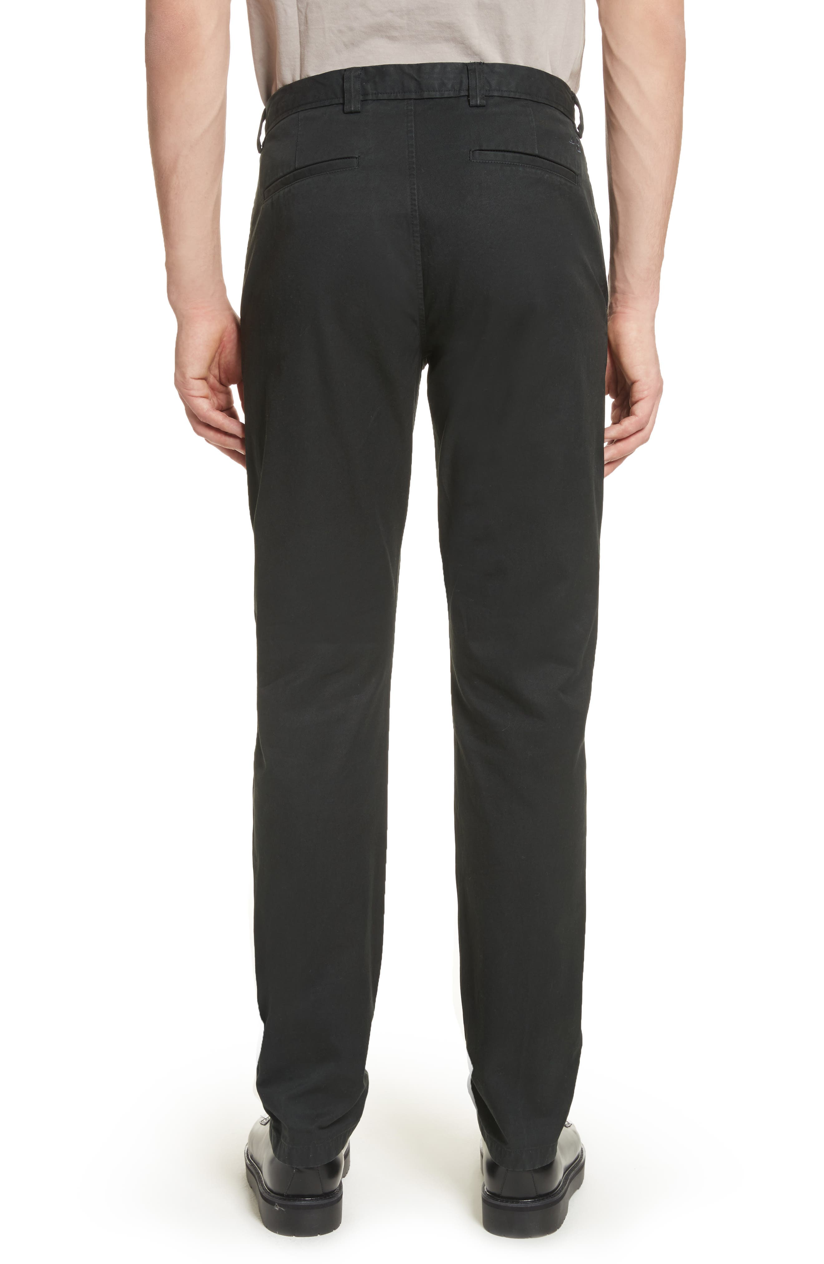 Isher Chinos,                             Alternate thumbnail 2, color,                             COAL BLACK