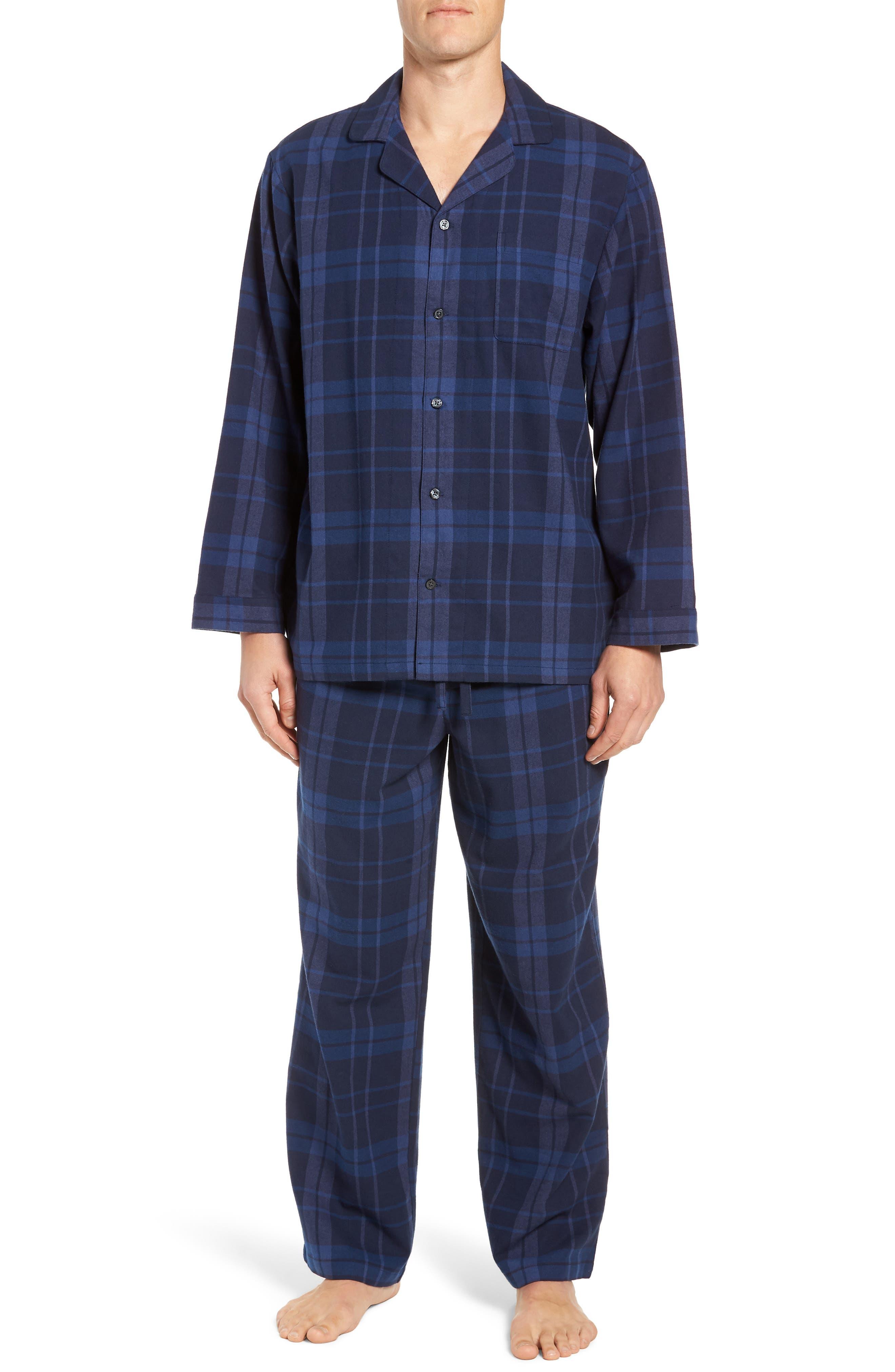 '824' Flannel Pajama Set,                             Main thumbnail 9, color,