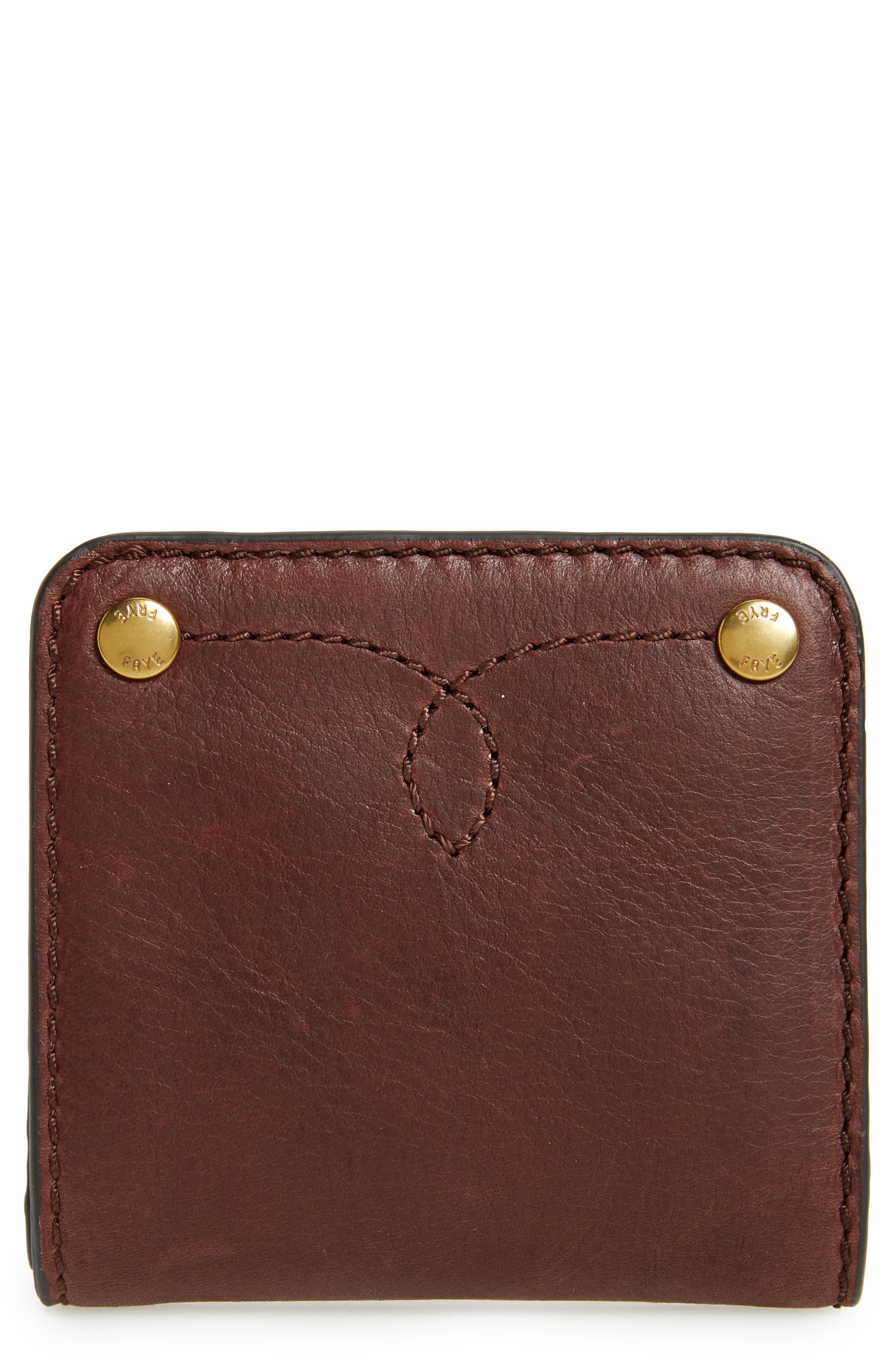 Small Campus Rivet Leather Wallet,                             Main thumbnail 1, color,                             210