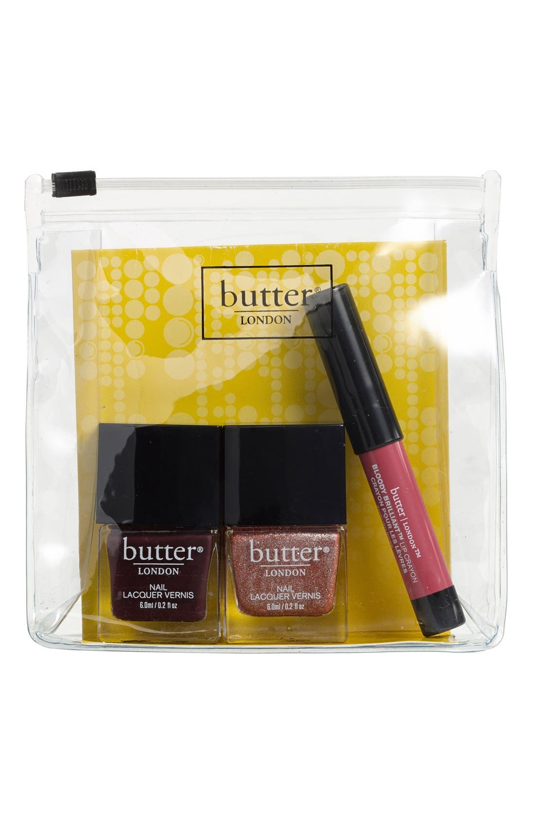 BUTTER LONDON,                             'Fancy Flirt' Set,                             Alternate thumbnail 3, color,                             650