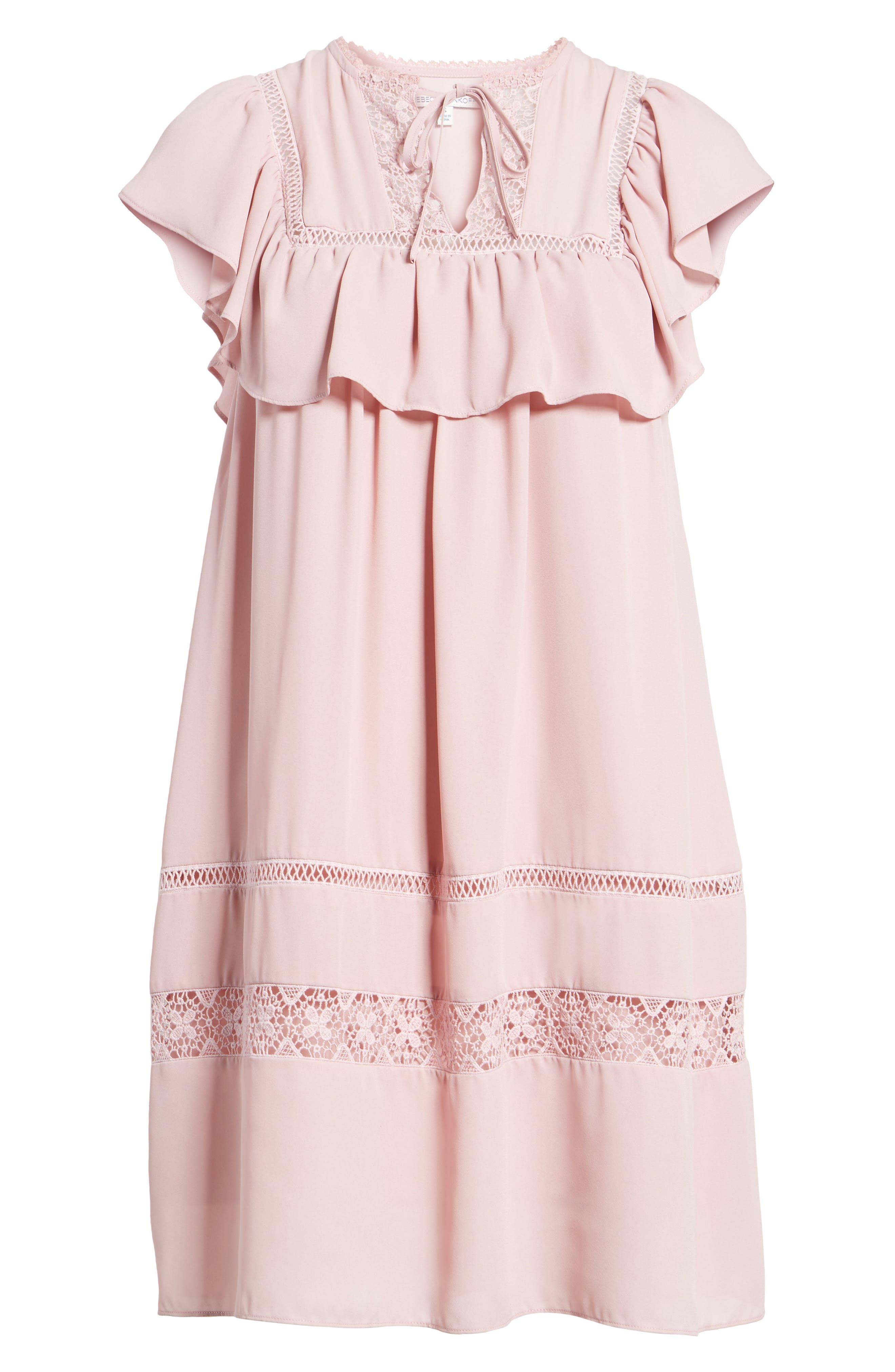 Sorbonne Babydoll Dress,                             Alternate thumbnail 12, color,