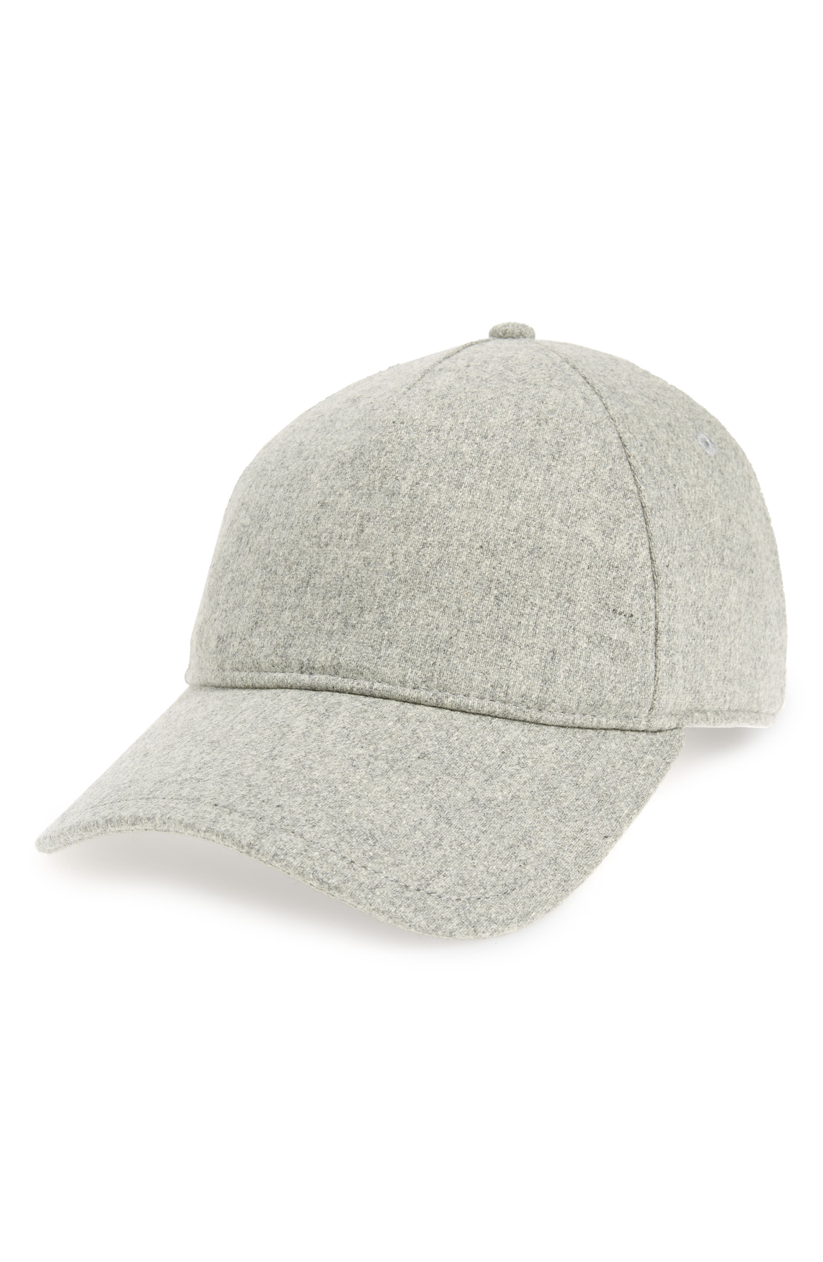 Marilyn Baseball Cap,                             Main thumbnail 1, color,                             LIGHT HEATHER GREY