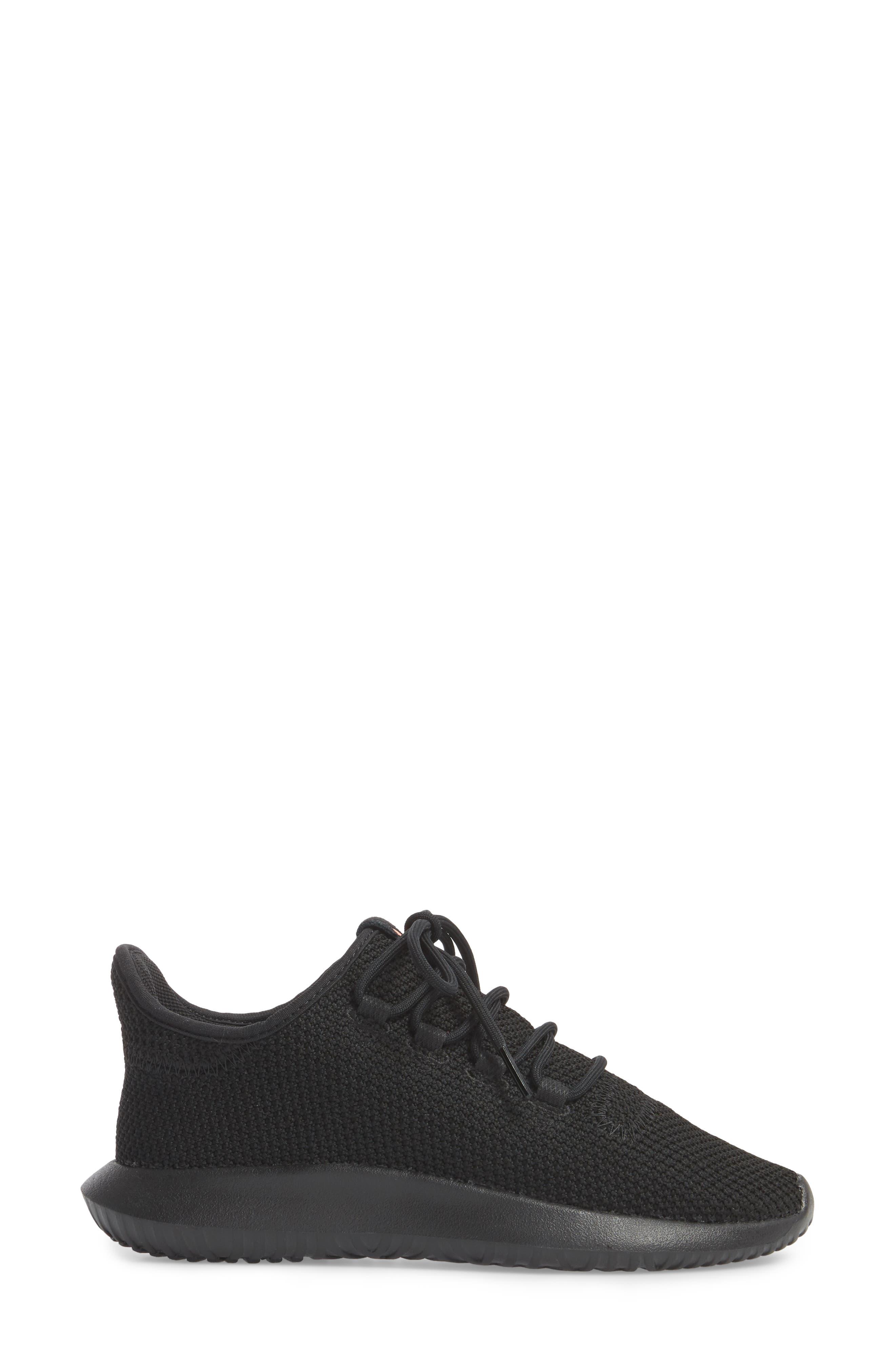 Tubular Shadow Sneaker,                             Alternate thumbnail 3, color,                             001