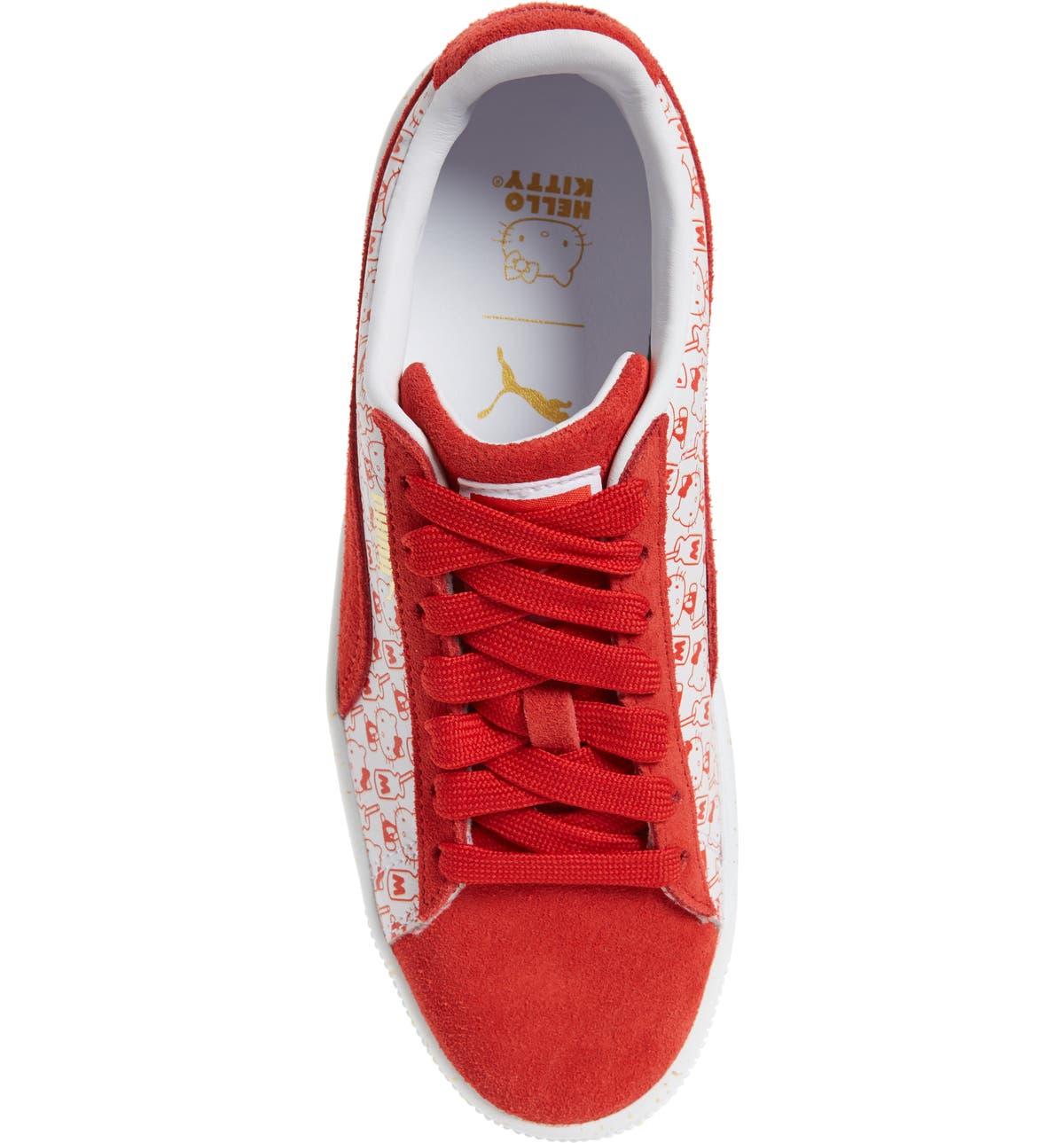 fb71df80a1bb PUMA x HELLO KITTY Suede Classic Sneaker (Women)