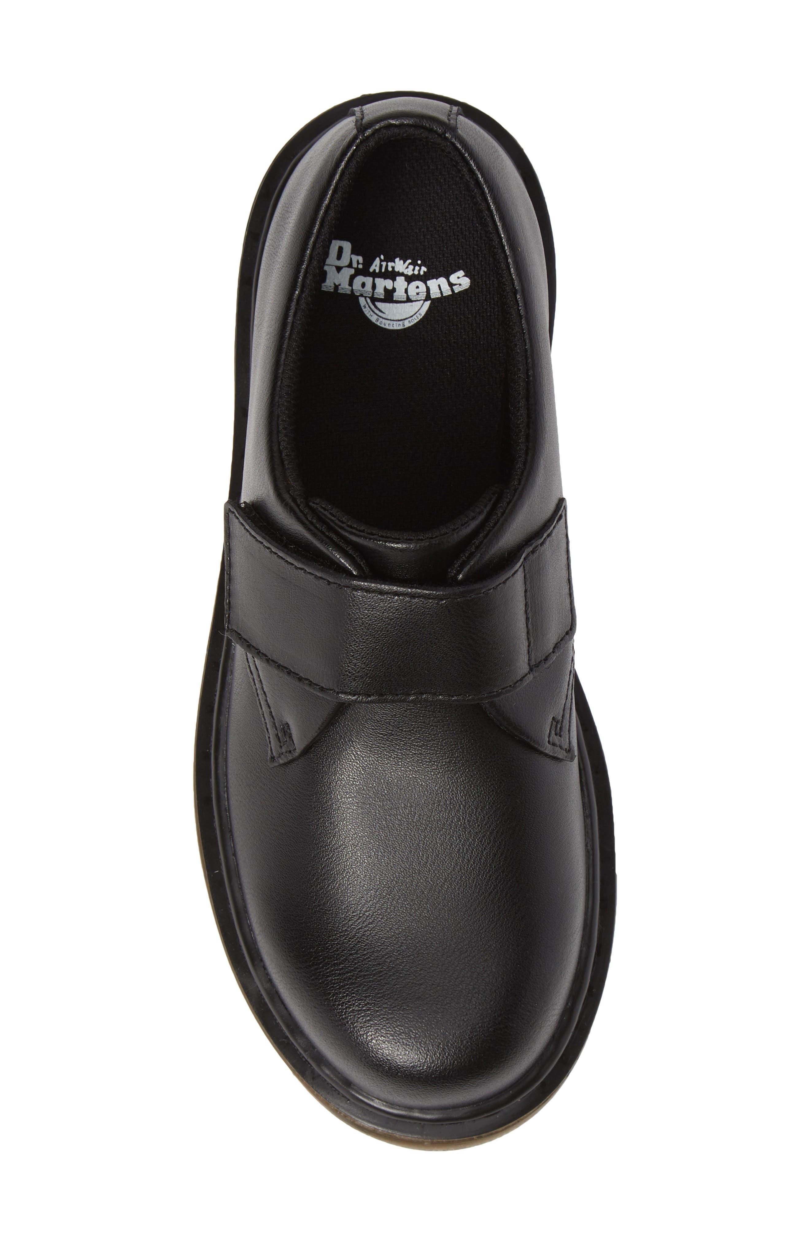 Strap Shoe,                             Alternate thumbnail 5, color,                             BLACK
