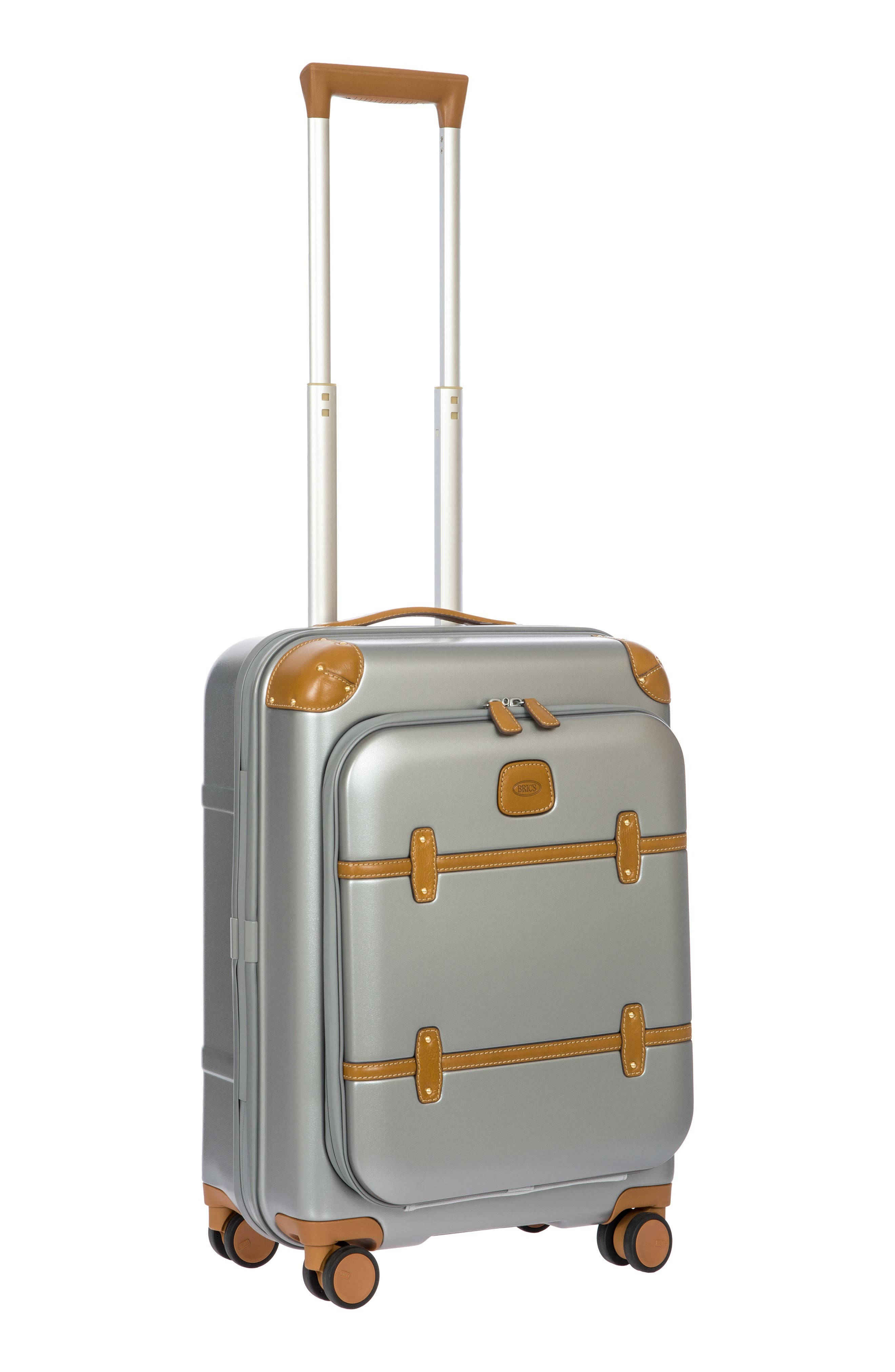 Bellagio 2.0 21-Inch Rolling Carry-On,                             Alternate thumbnail 8, color,                             SILVER
