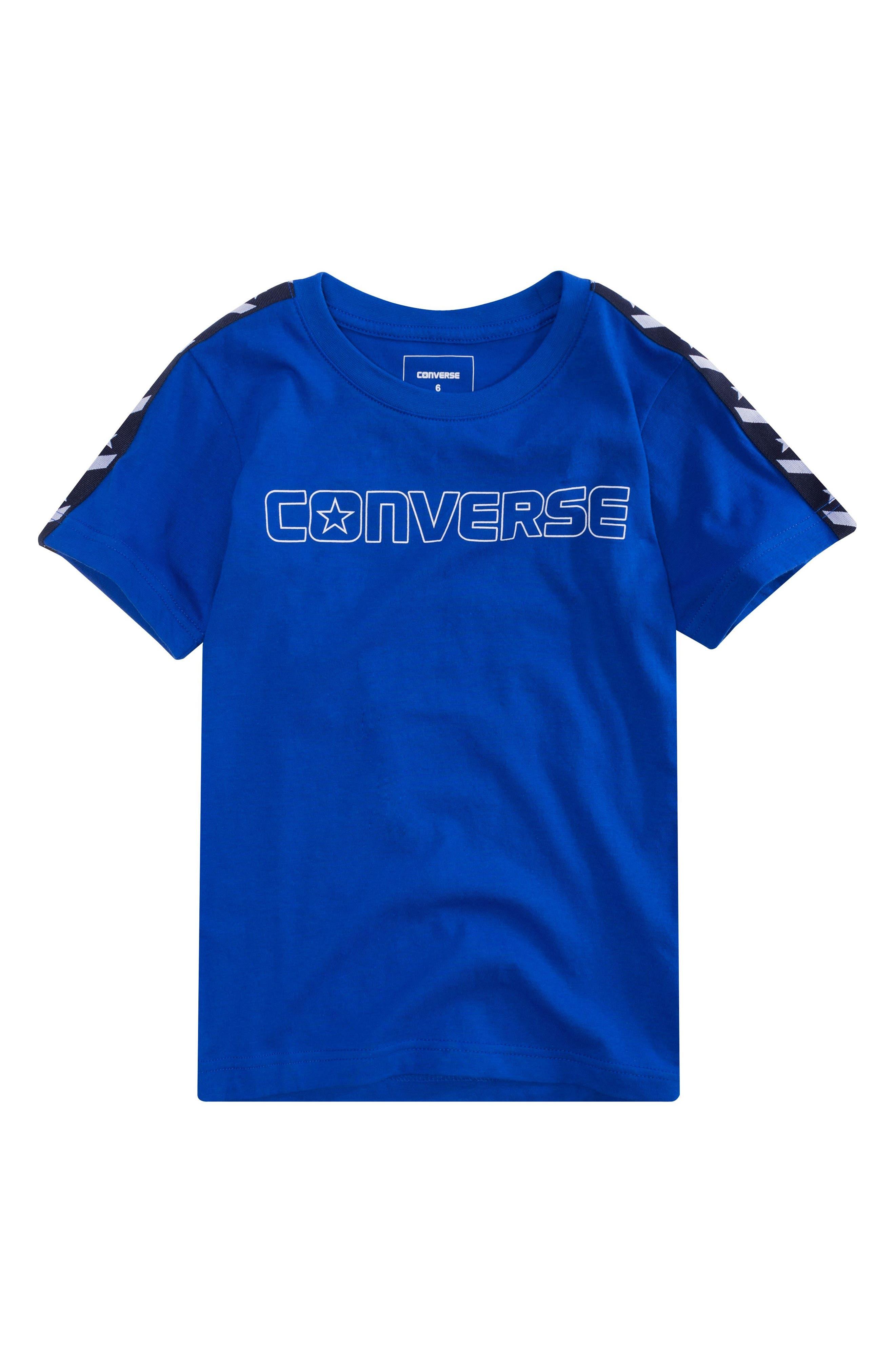 Stars & Logo Graphic T-Shirt,                             Main thumbnail 1, color,                             431