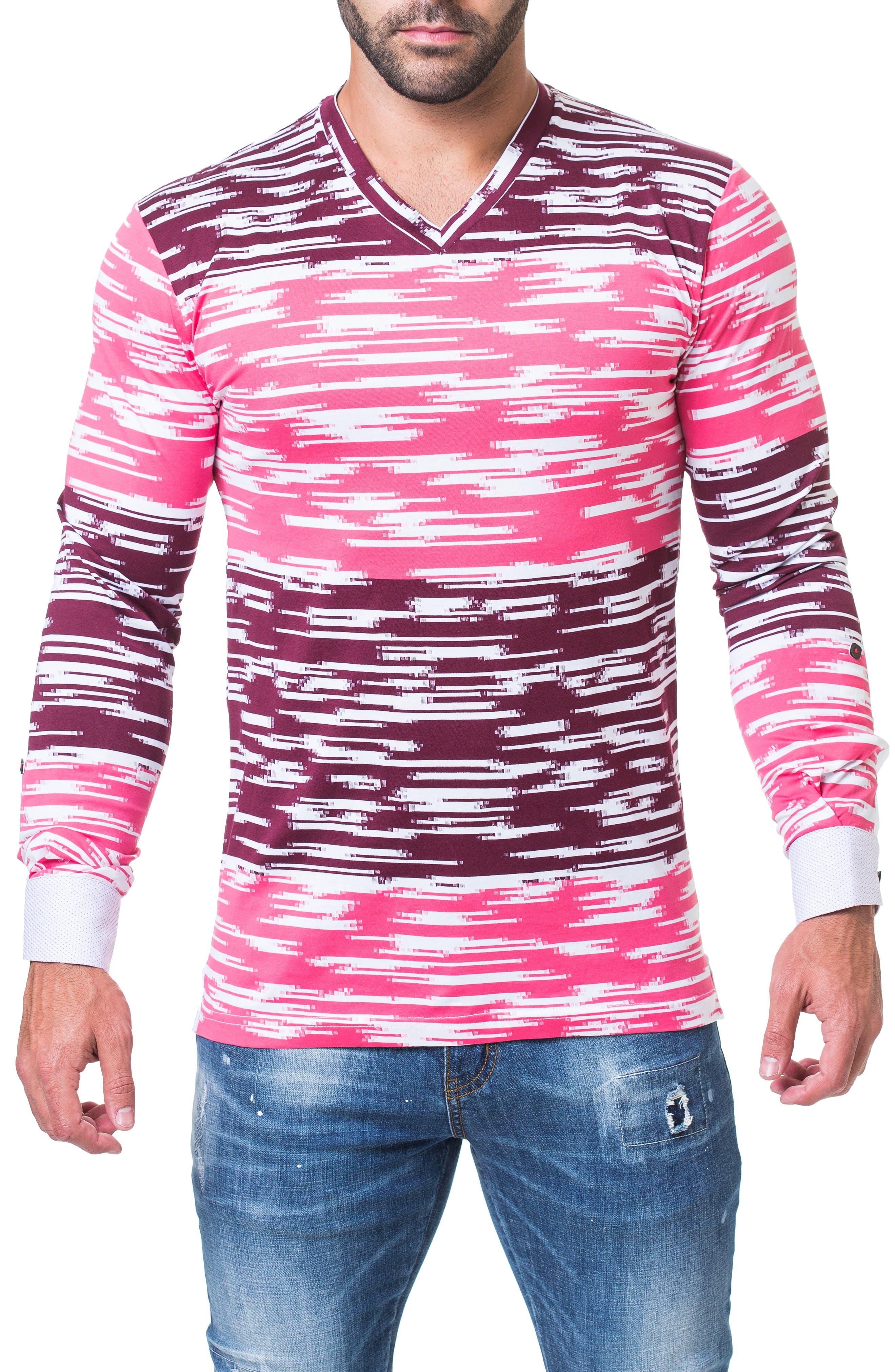 Edison Trim Fit Print T-Shirt,                         Main,                         color, BLACK
