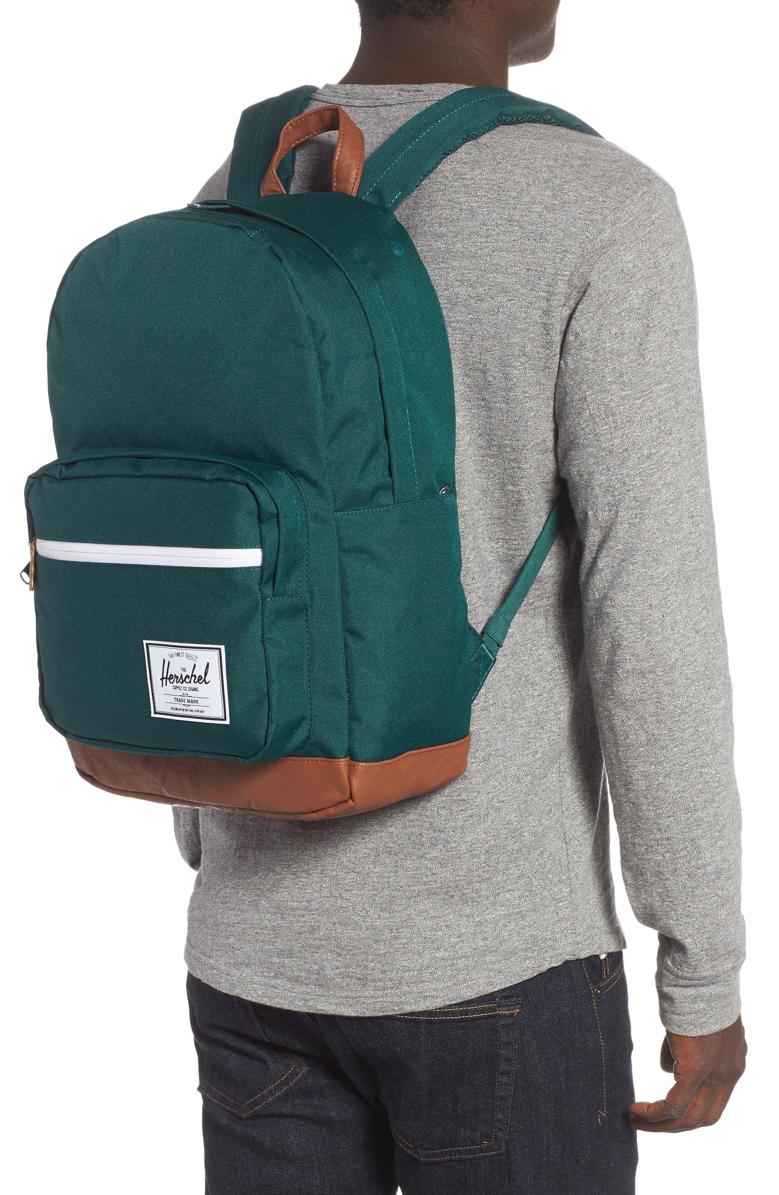 Pop Quiz Backpack,                             Alternate thumbnail 2, color,                             DEEP TEAL/ TAN