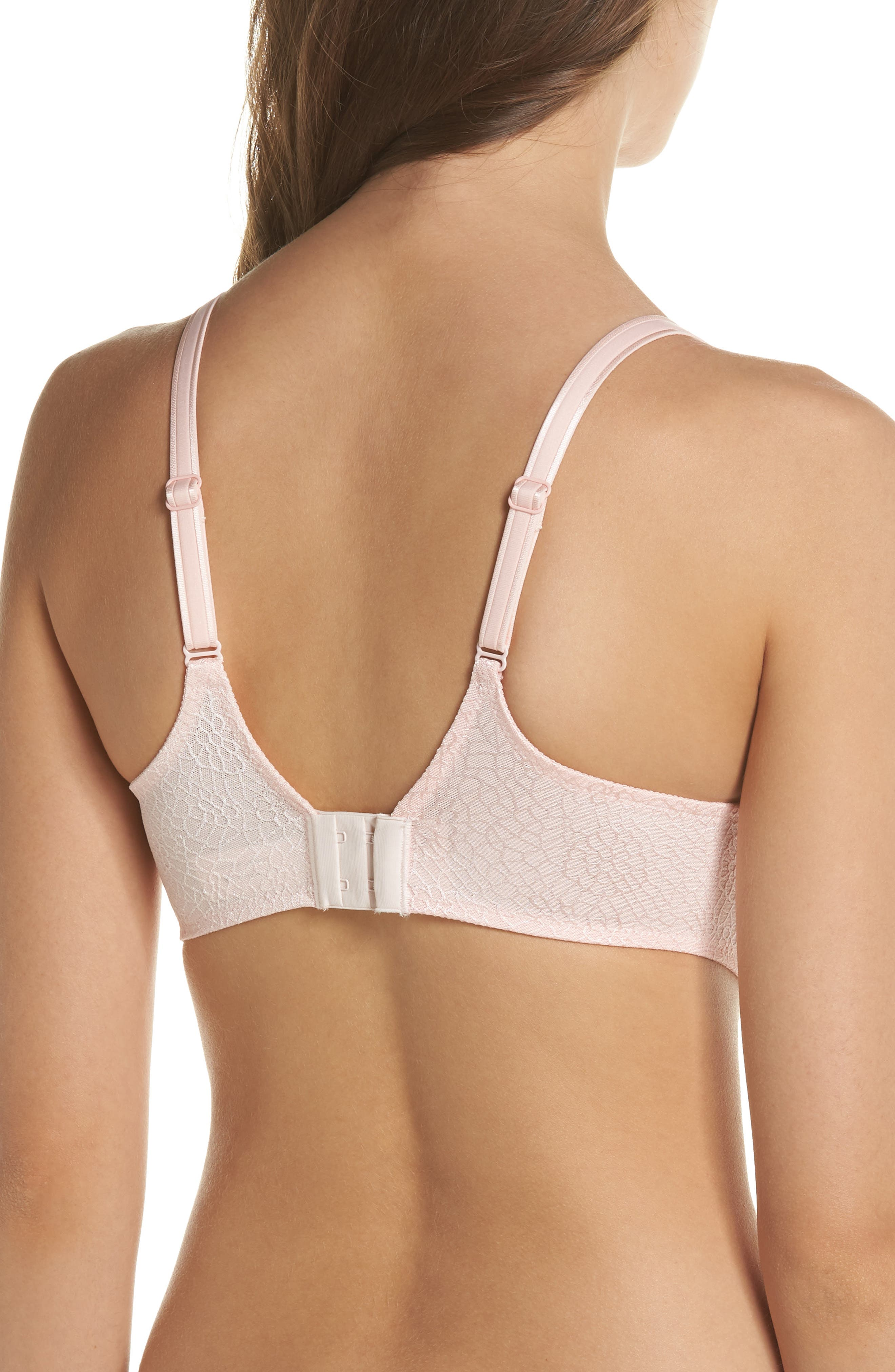 C Magnifique Underwire Spacer Bra,                             Alternate thumbnail 2, color,                             BLUSHING PINK