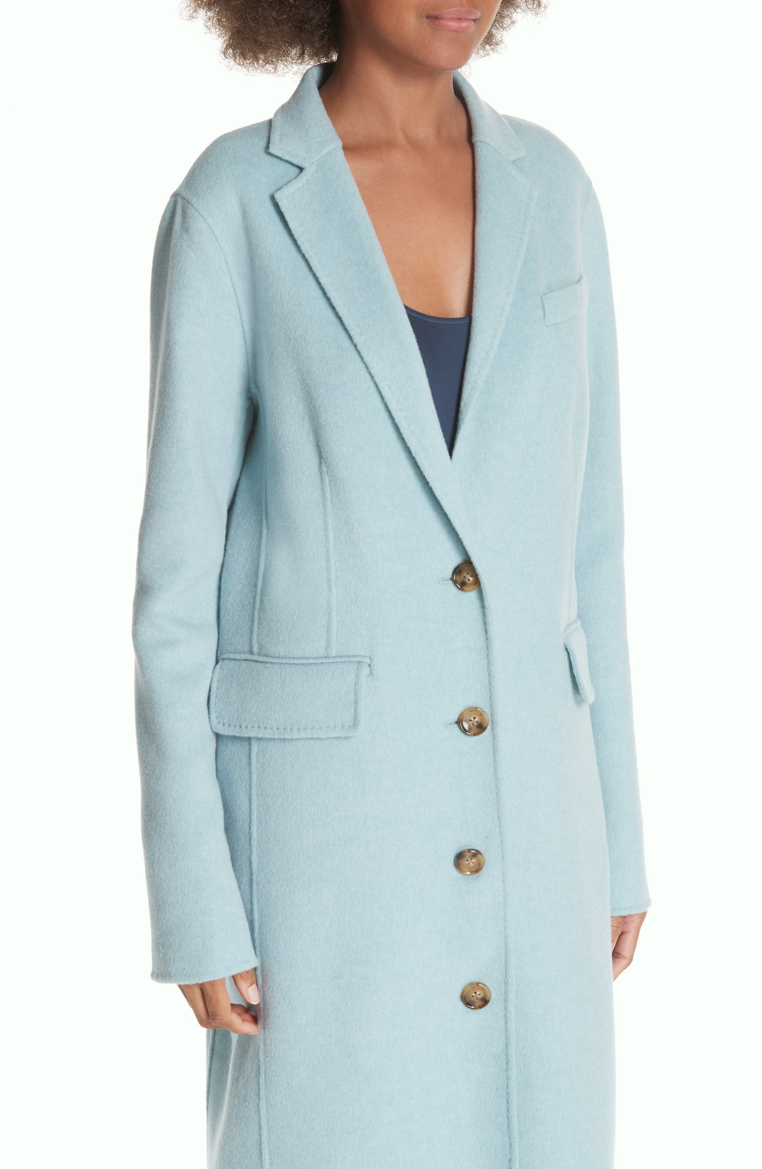 ELIZABETH AND JAMES,                             Russell Wool Blend Coat,                             Alternate thumbnail 4, color,                             400