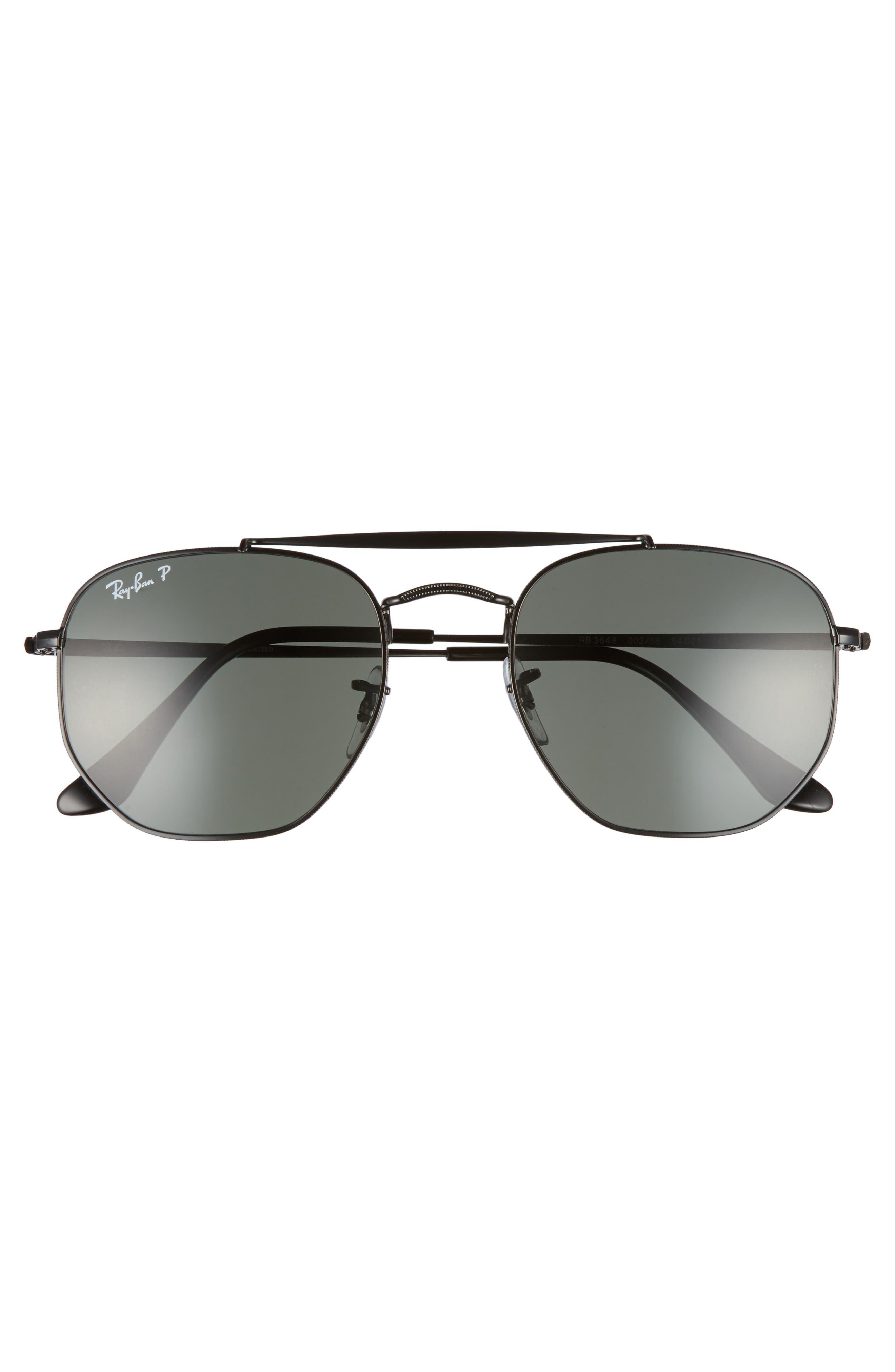 The Ja-Jo 54mm Round Sunglasses,                             Alternate thumbnail 3, color,                             002