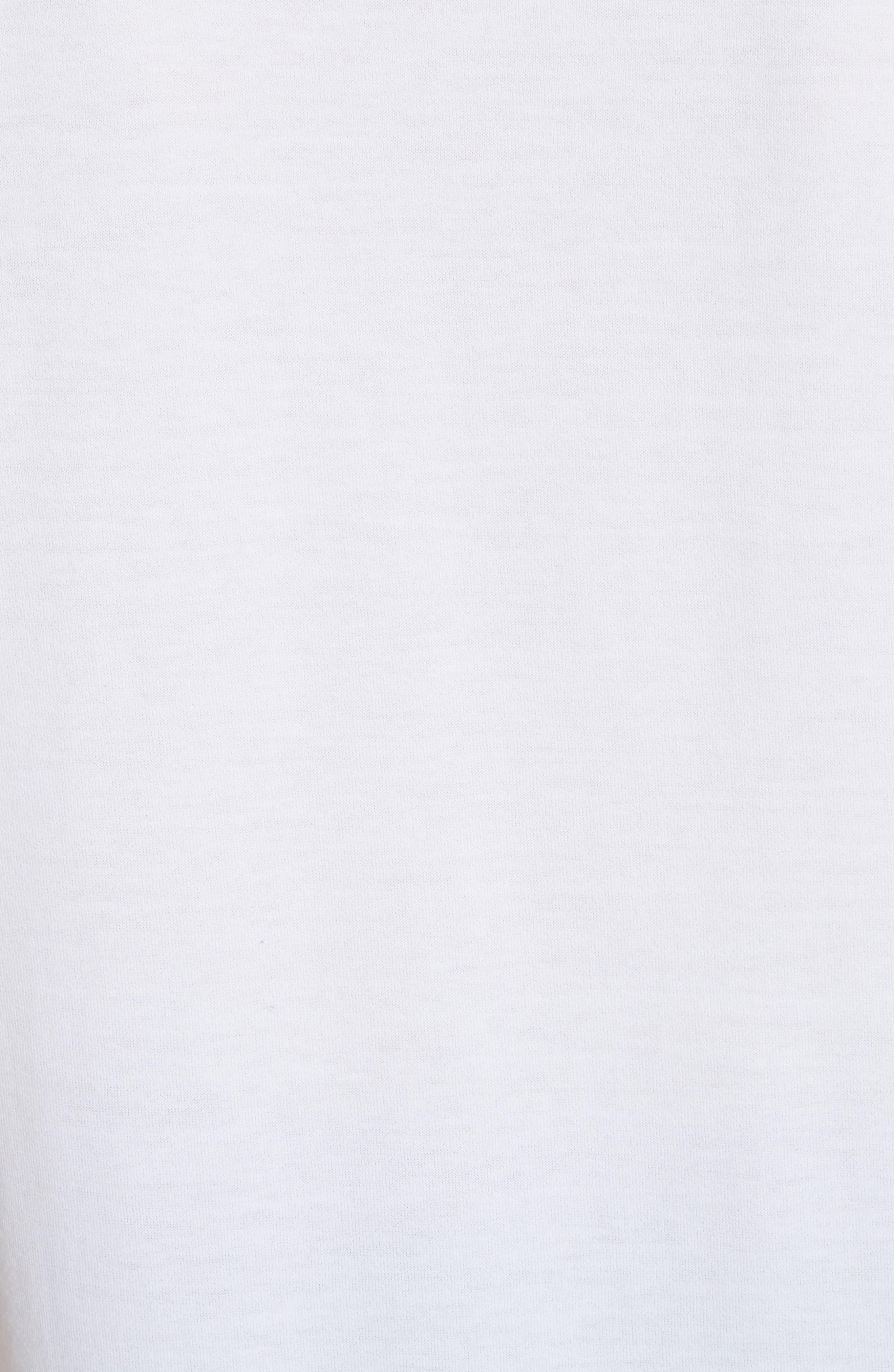 Patch Logo Cotton Tee,                             Alternate thumbnail 5, color,                             WHITE
