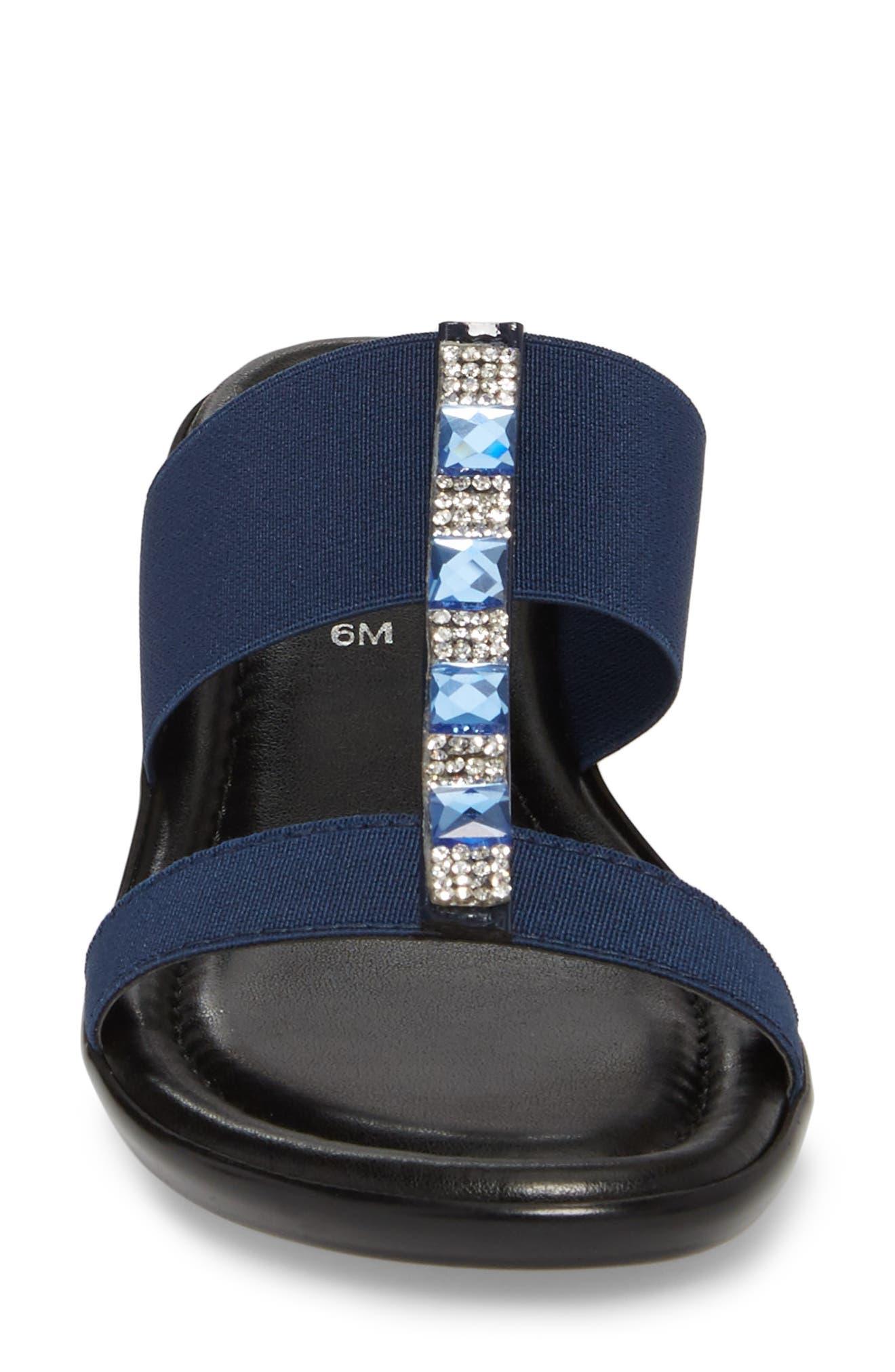 by Easy Street<sup>®</sup> Elba Embellished Slide Sandal,                             Alternate thumbnail 15, color,