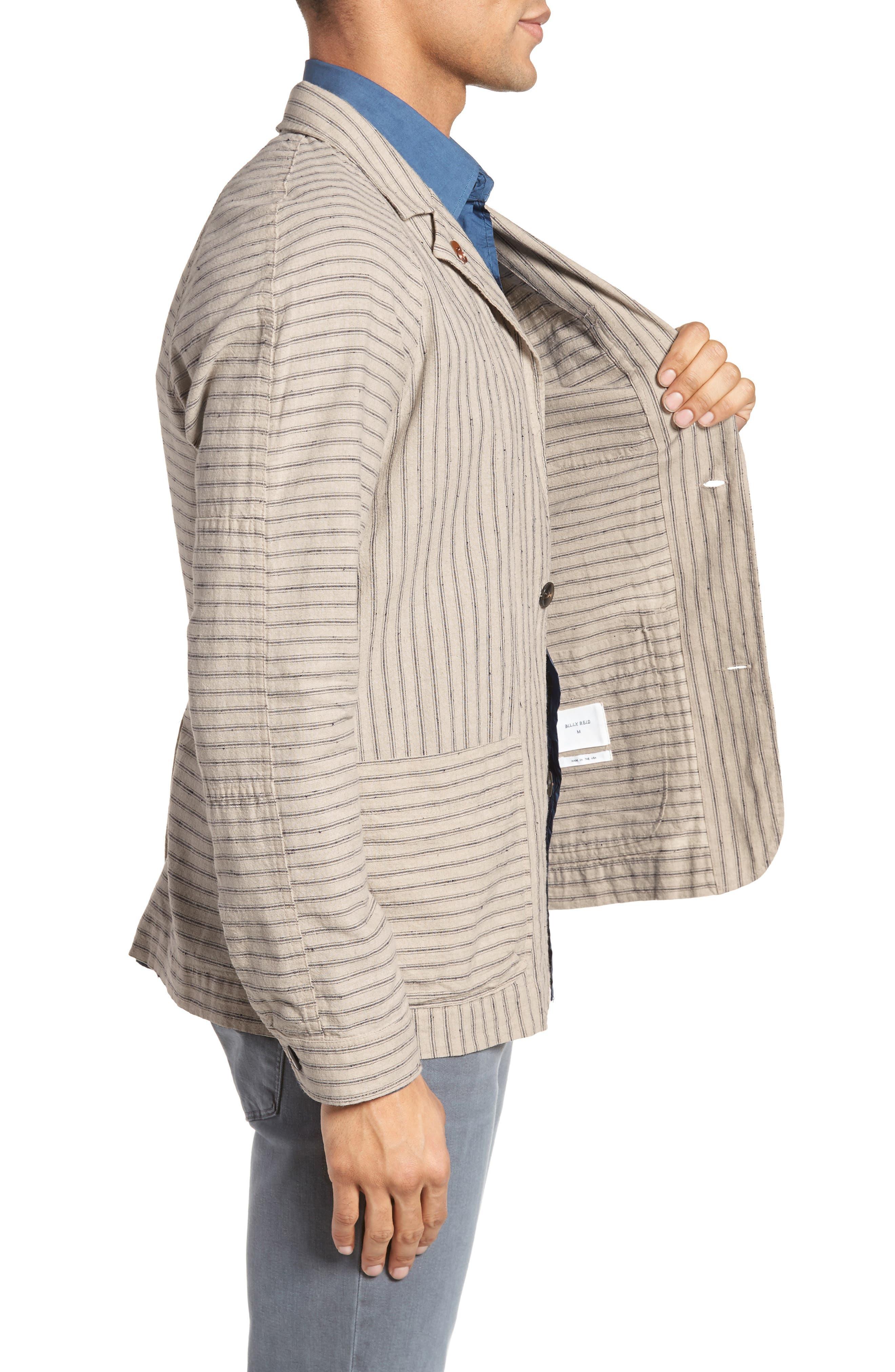 Harrison Linen & Cotton Jacket,                             Alternate thumbnail 3, color,                             274