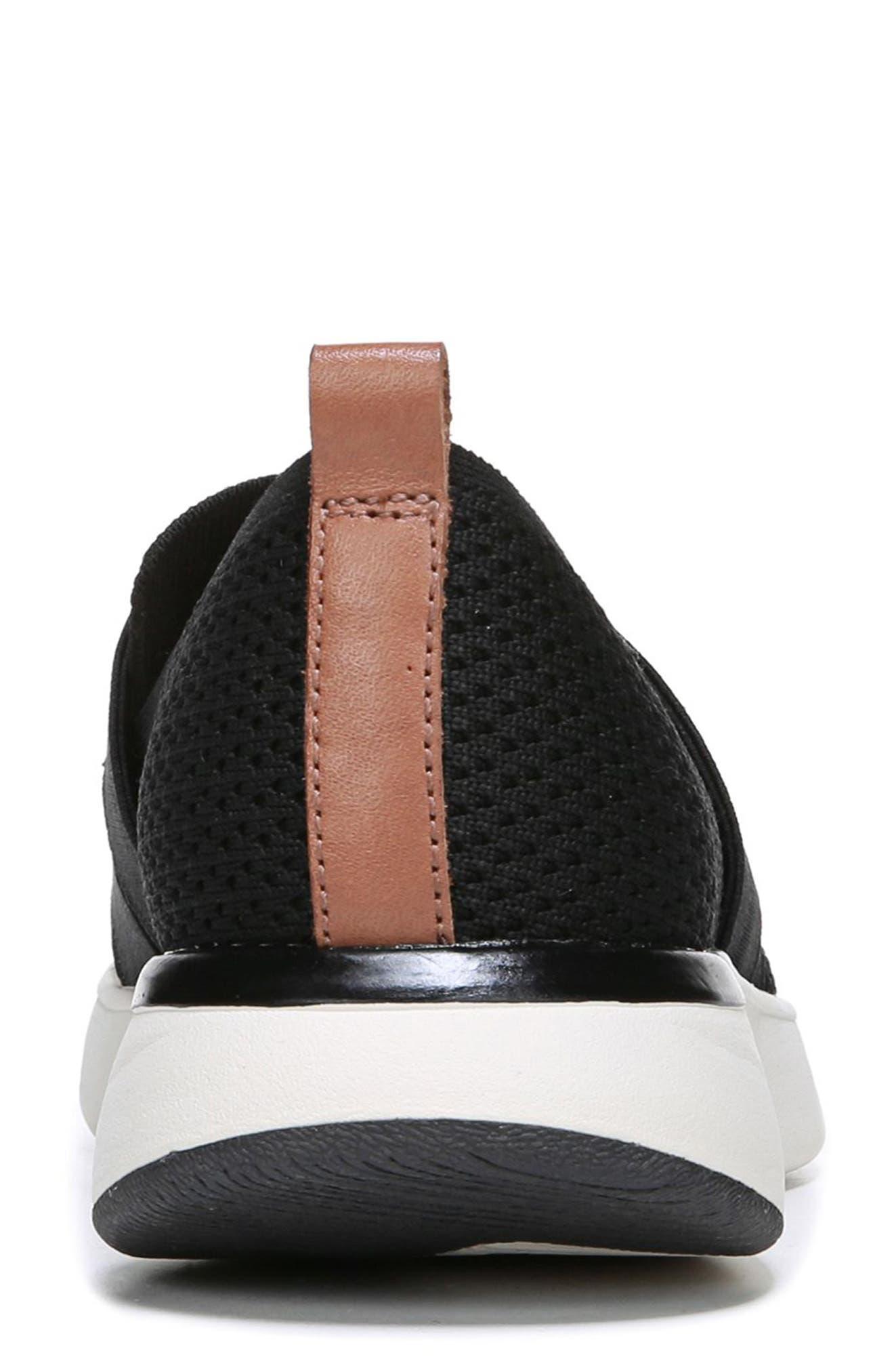 Slay All Day Sneaker,                             Alternate thumbnail 7, color,                             BLACK FABRIC