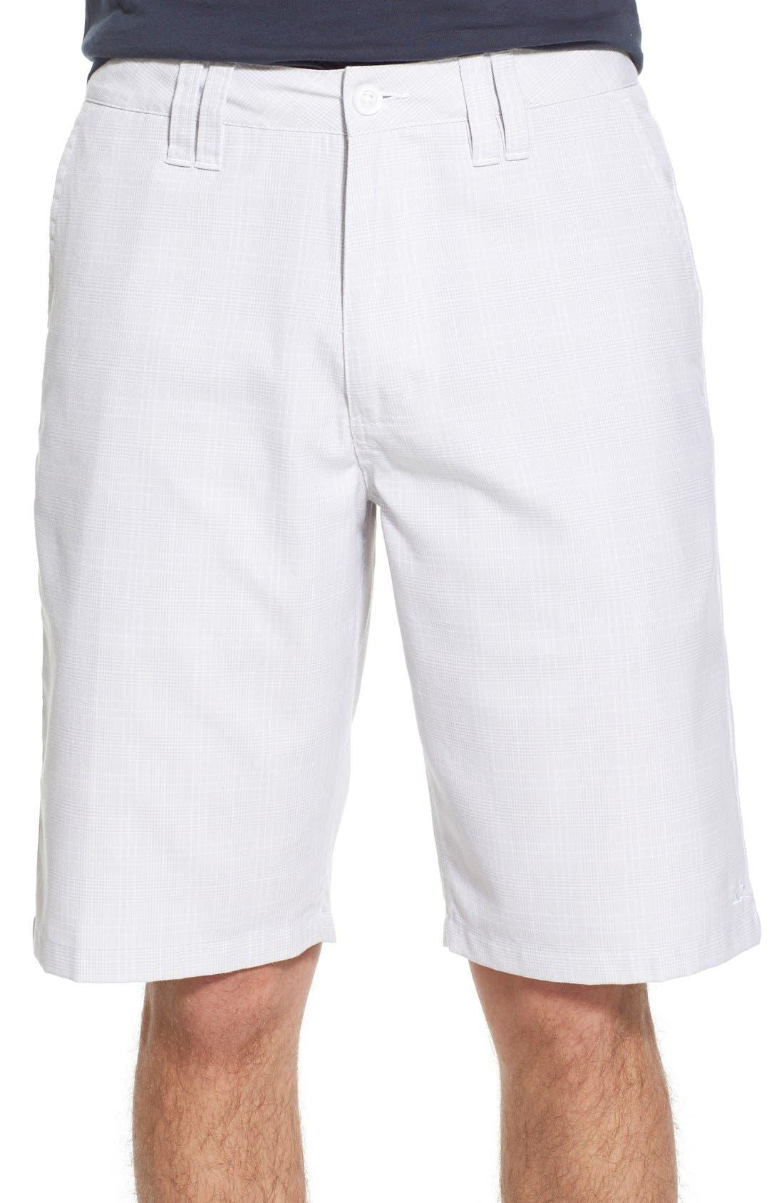 'Delta Plaid' Chino Shorts,                             Main thumbnail 3, color,