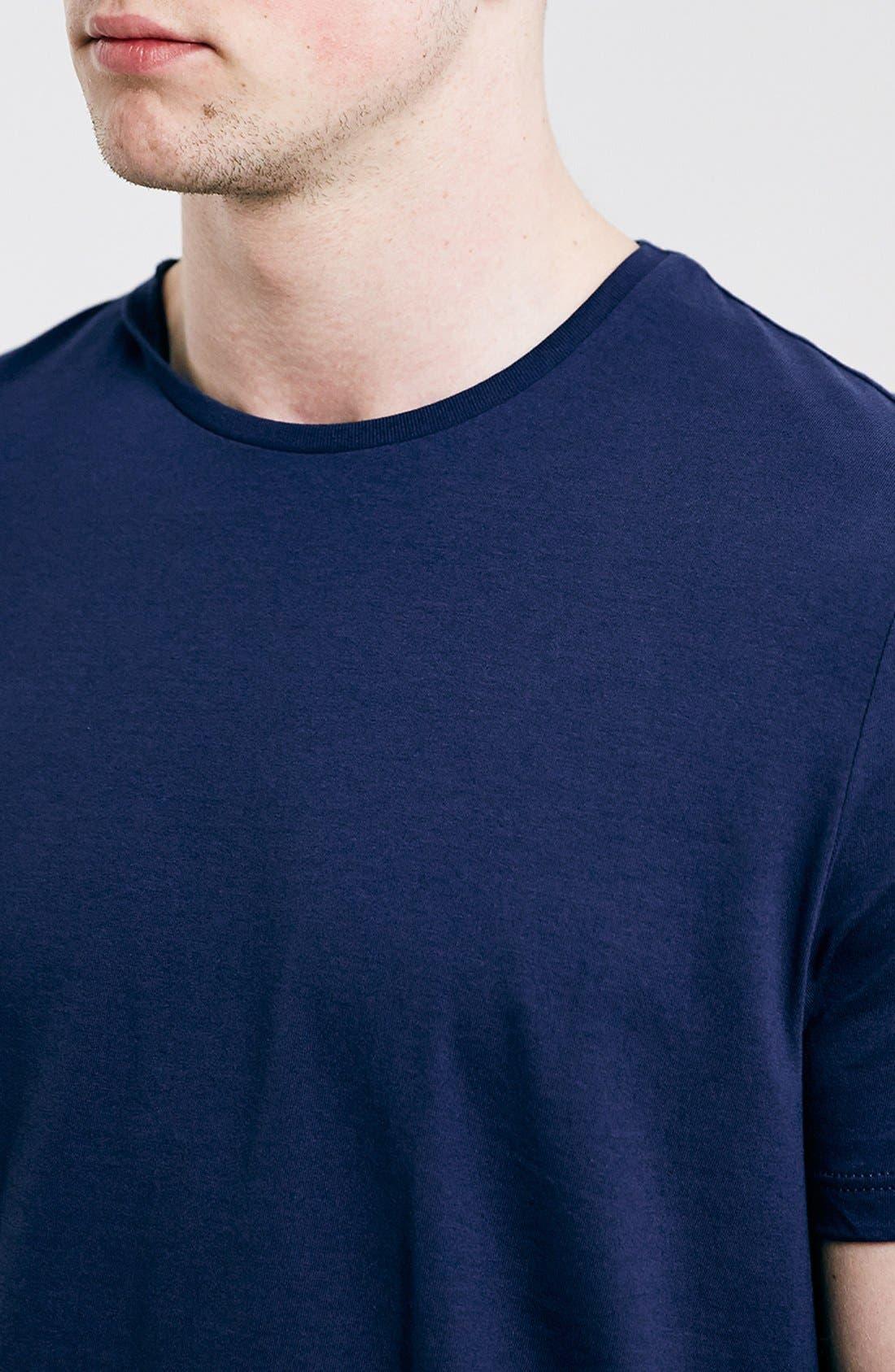 Slim Fit Crewneck T-Shirt,                             Alternate thumbnail 342, color,